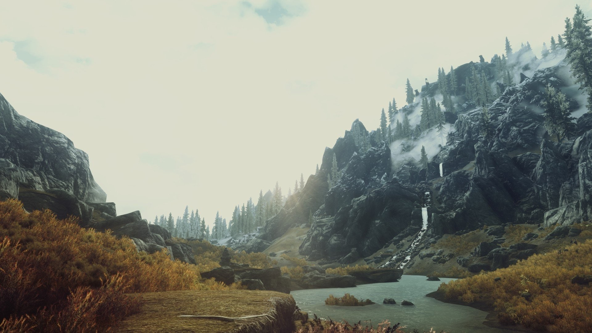 Video games nature screenshots The Elder Scrolls V: Skyrim wallpaper      244212   WallpaperUP