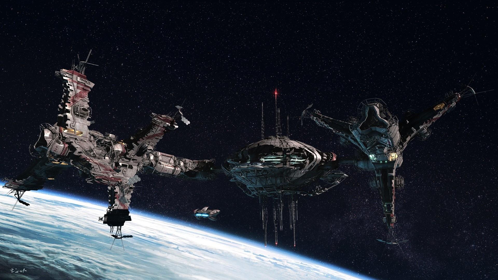 Battlestar Galactica Space Spaceship · HD Wallpaper   Background ID:198970