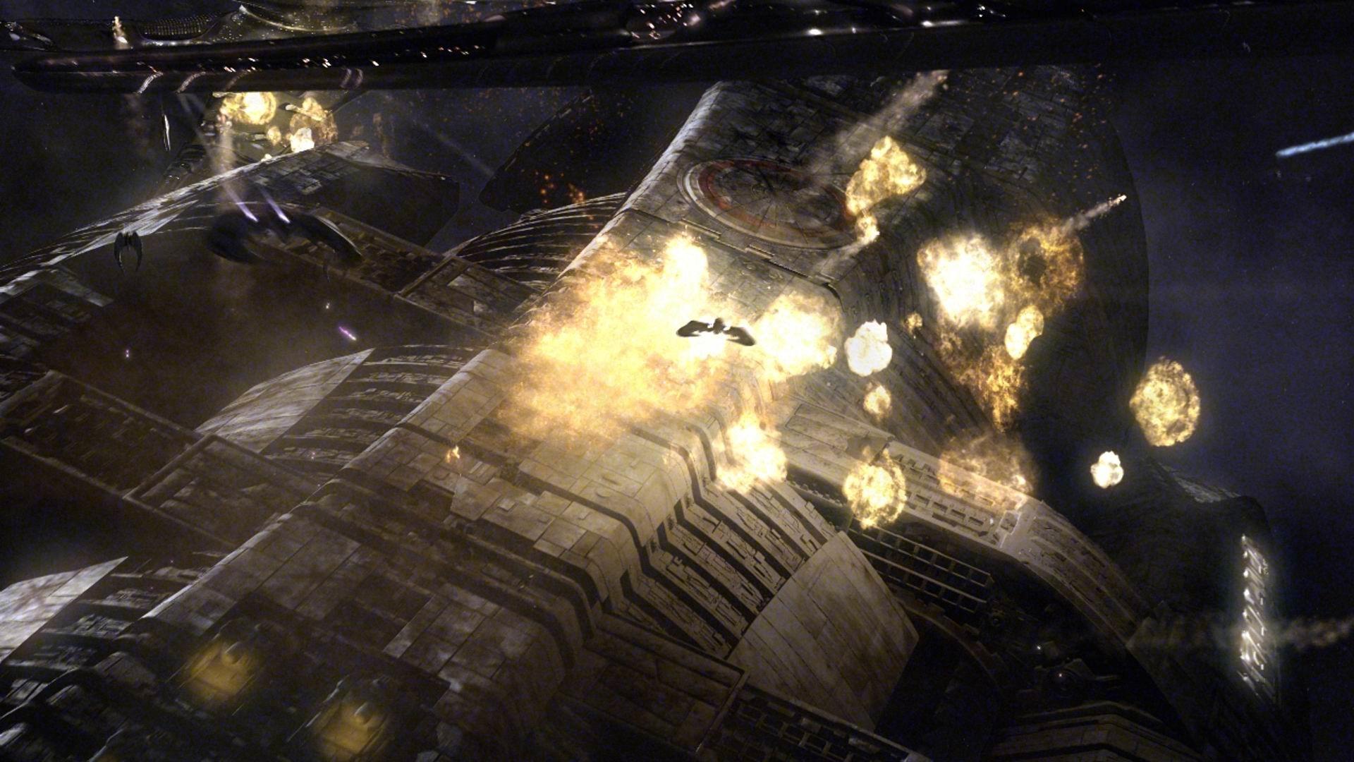 Battlestar Galactica spaceships vehicles cylon Zylon wallpaper      213441   WallpaperUP