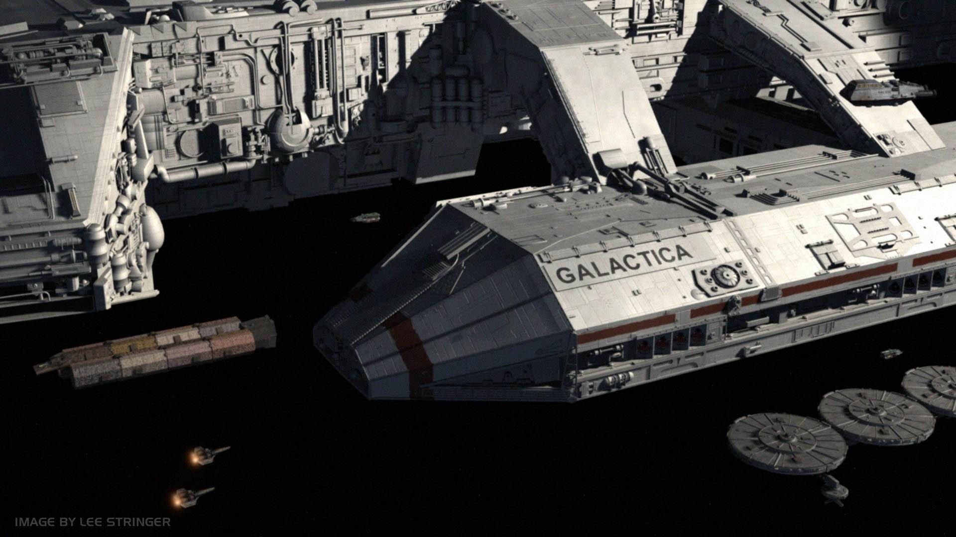 TV Show – Battlestar Galactica (2003) Battlestar Galactica Wallpaper