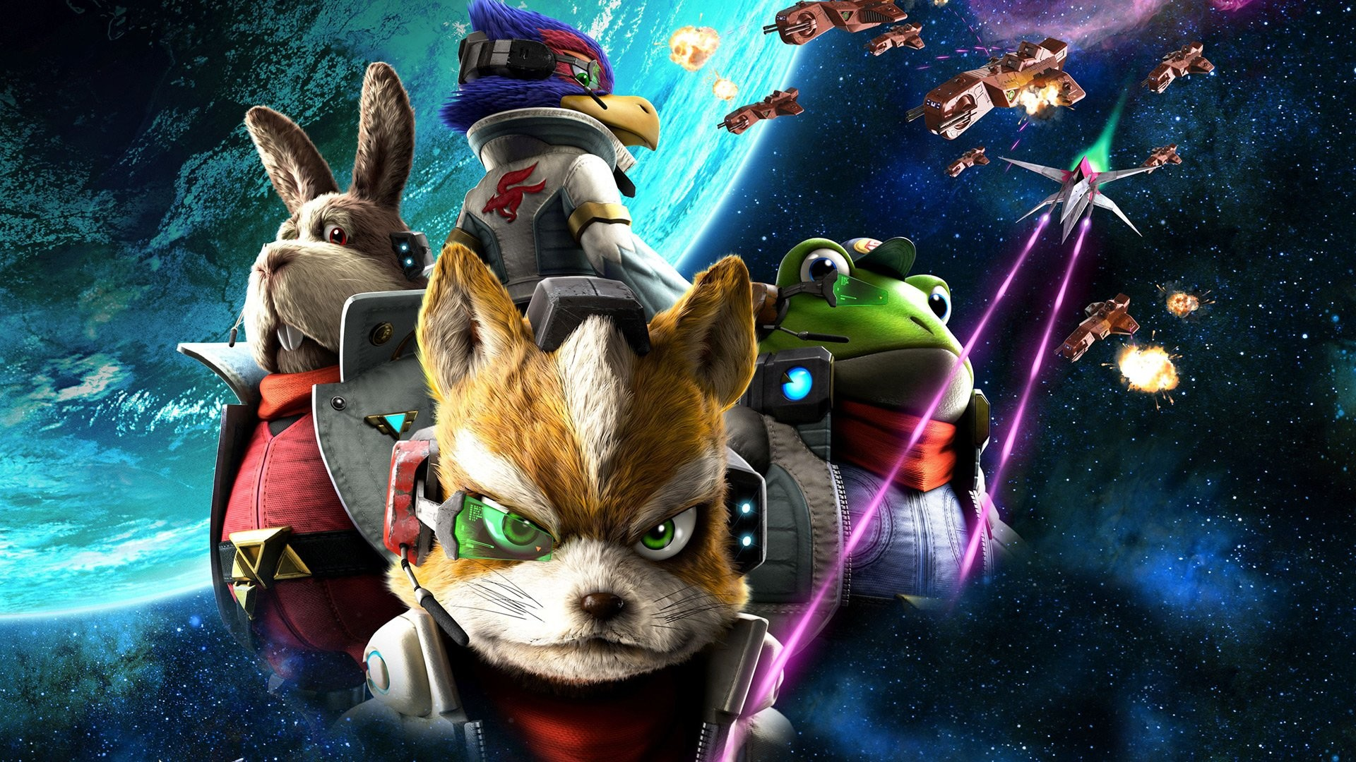 STAR FOX ZERO Suta Fokkusu Zero acion fighting 1sfz sci-fi futuristic .