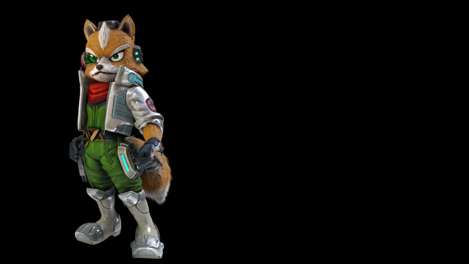 Fox's new design, taken from Nintendo's website. Thoughts?