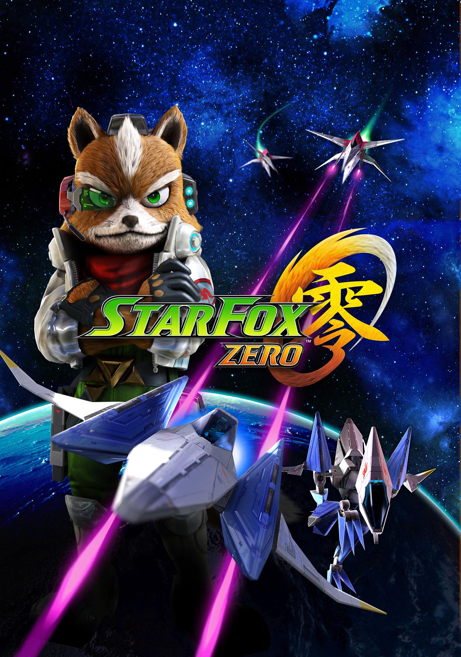 Star Fox Zero Official Artwork With Logo Nintendo Wii U