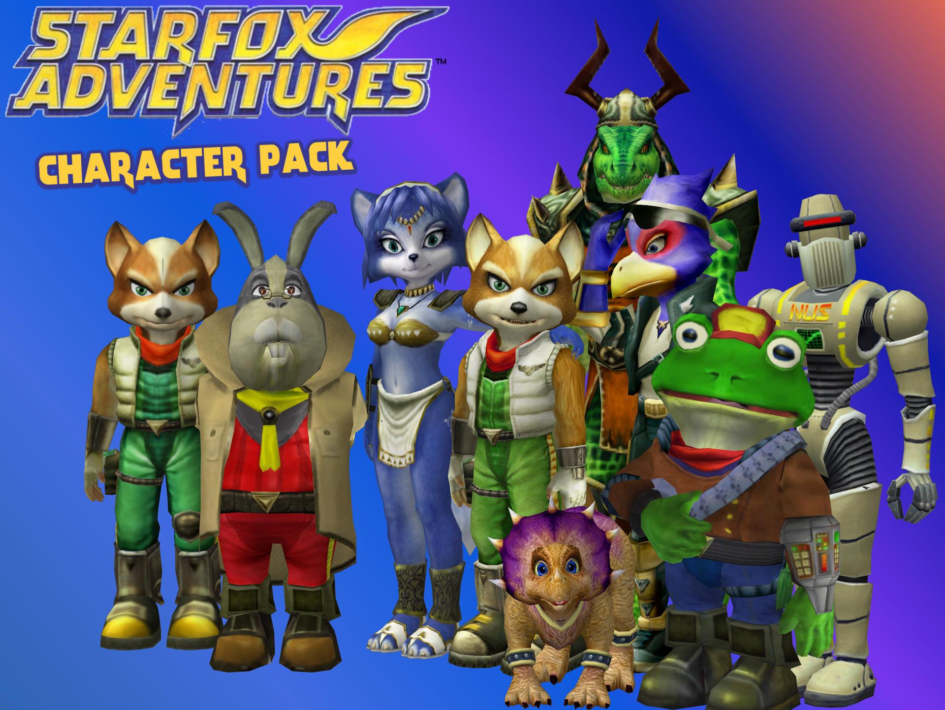 Star Fox Adventures – Character pack by Commitment2PurpleX2.deviantart.com  on @DeviantArt