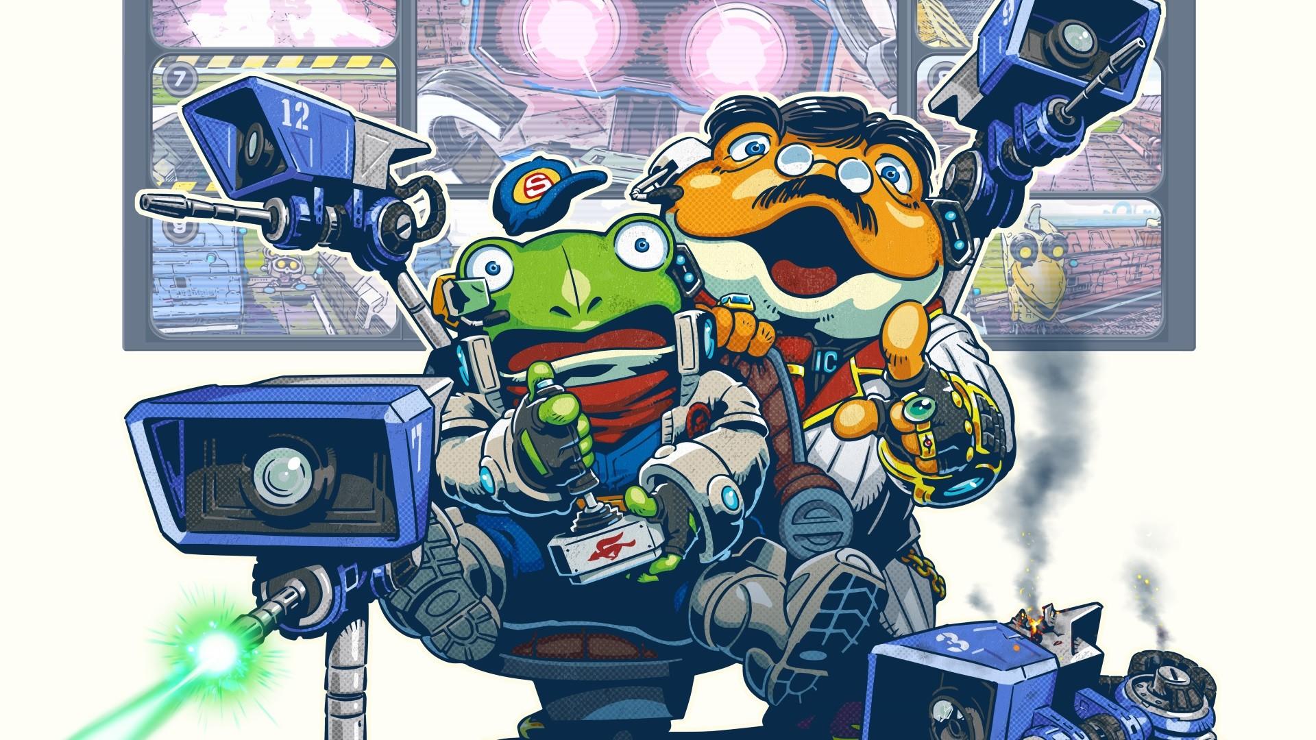 Star Fox Guard review – a triumph for the Wii U GamePad   Expert Reviews