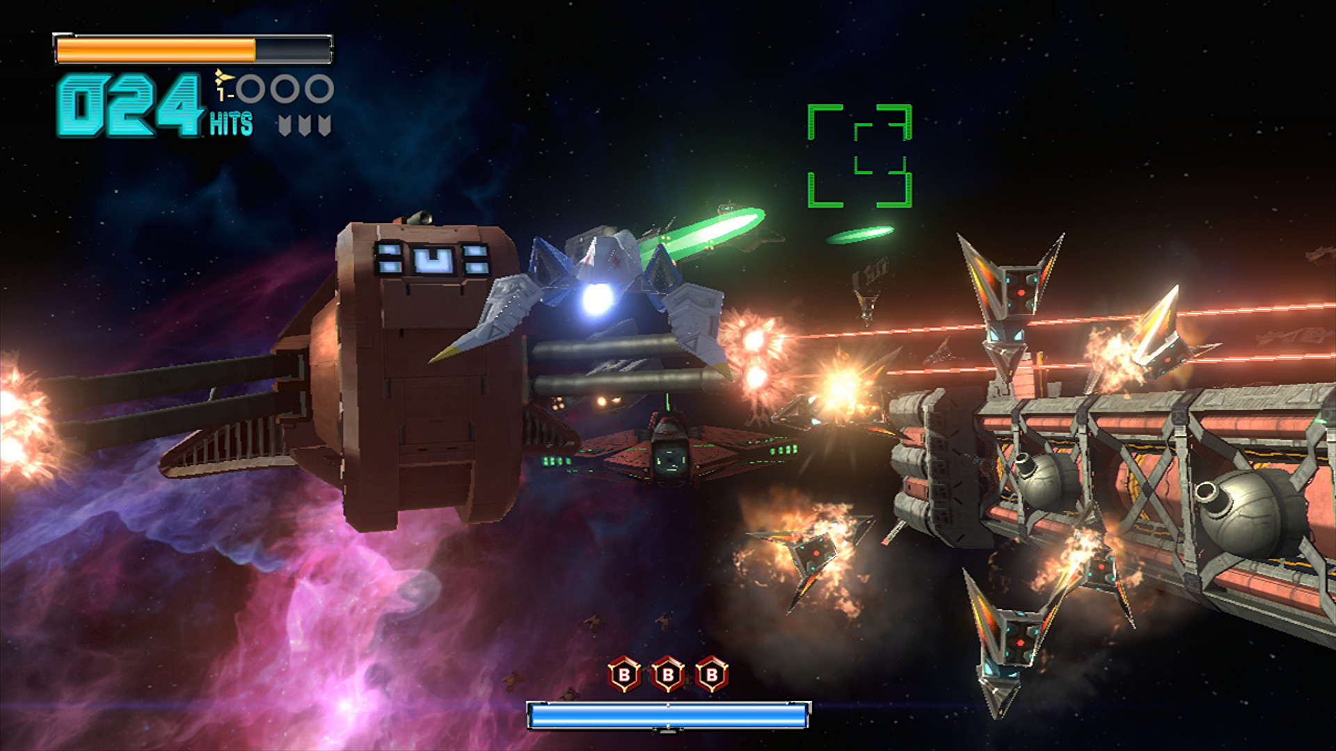 … Platinum Games doesn't hold back when it comes to effects, and Star Fox  …