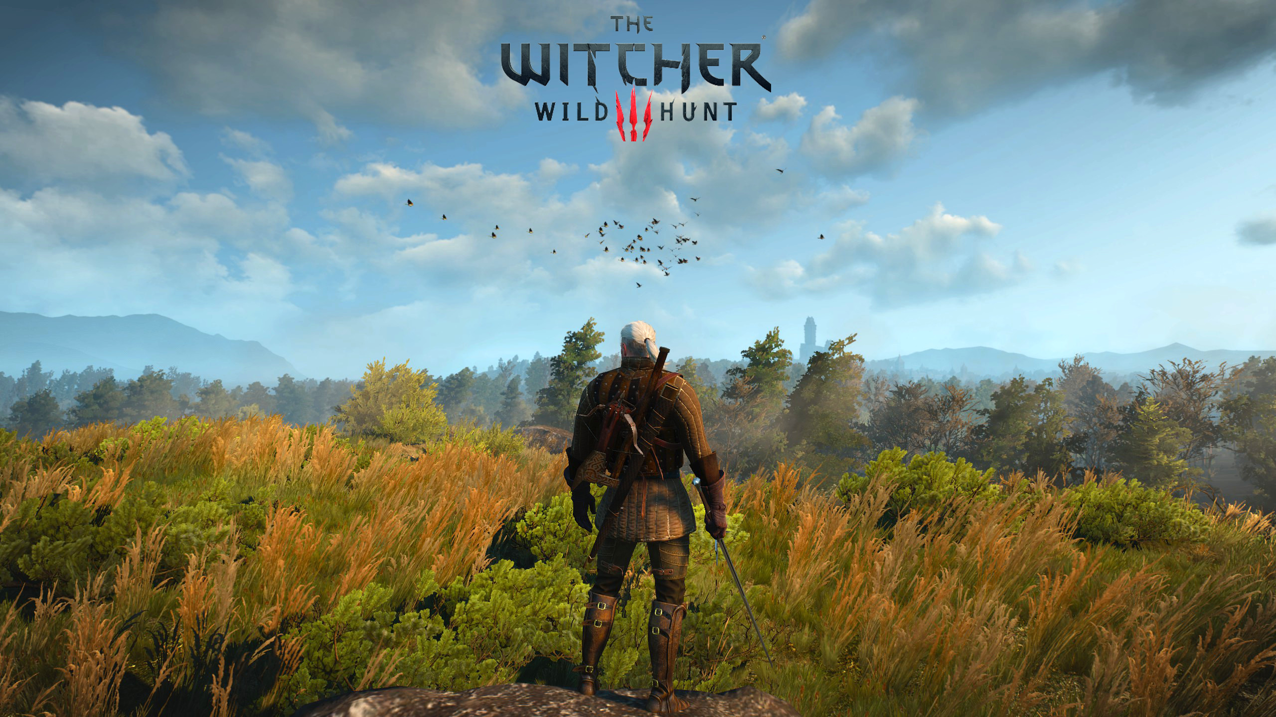 Created 4 Minimal Witcher 3 Wallpapers [1440p] 1080p in Comments : witcher