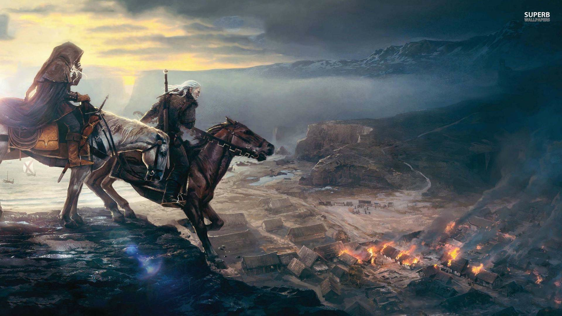 The Witcher 3 1080p Wallpaper –