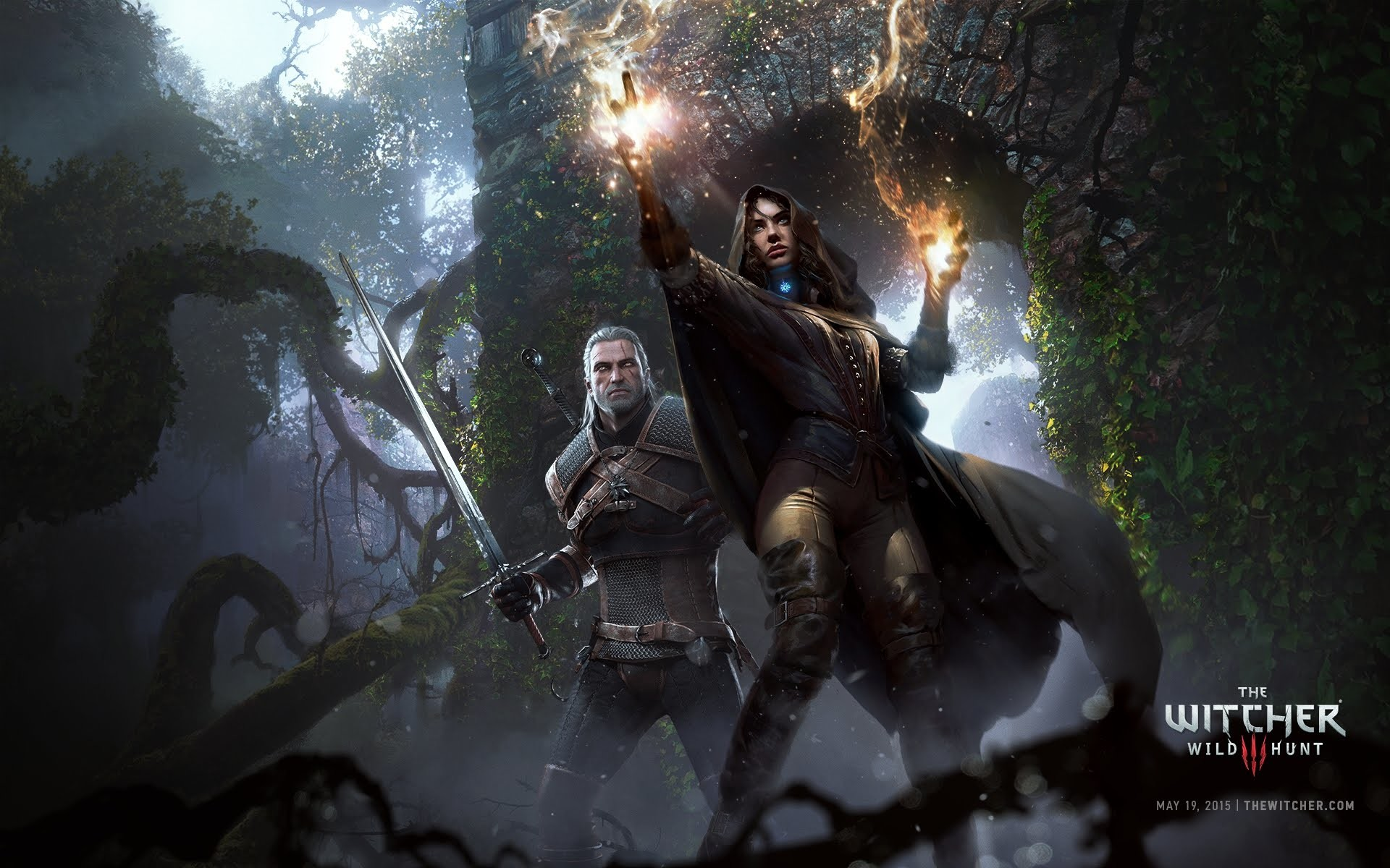 The Witcher 3 Ultra Settings @ 1080P Gameplay GTX 780 SLI. Nvdia HairWorks  Enable/Disable.