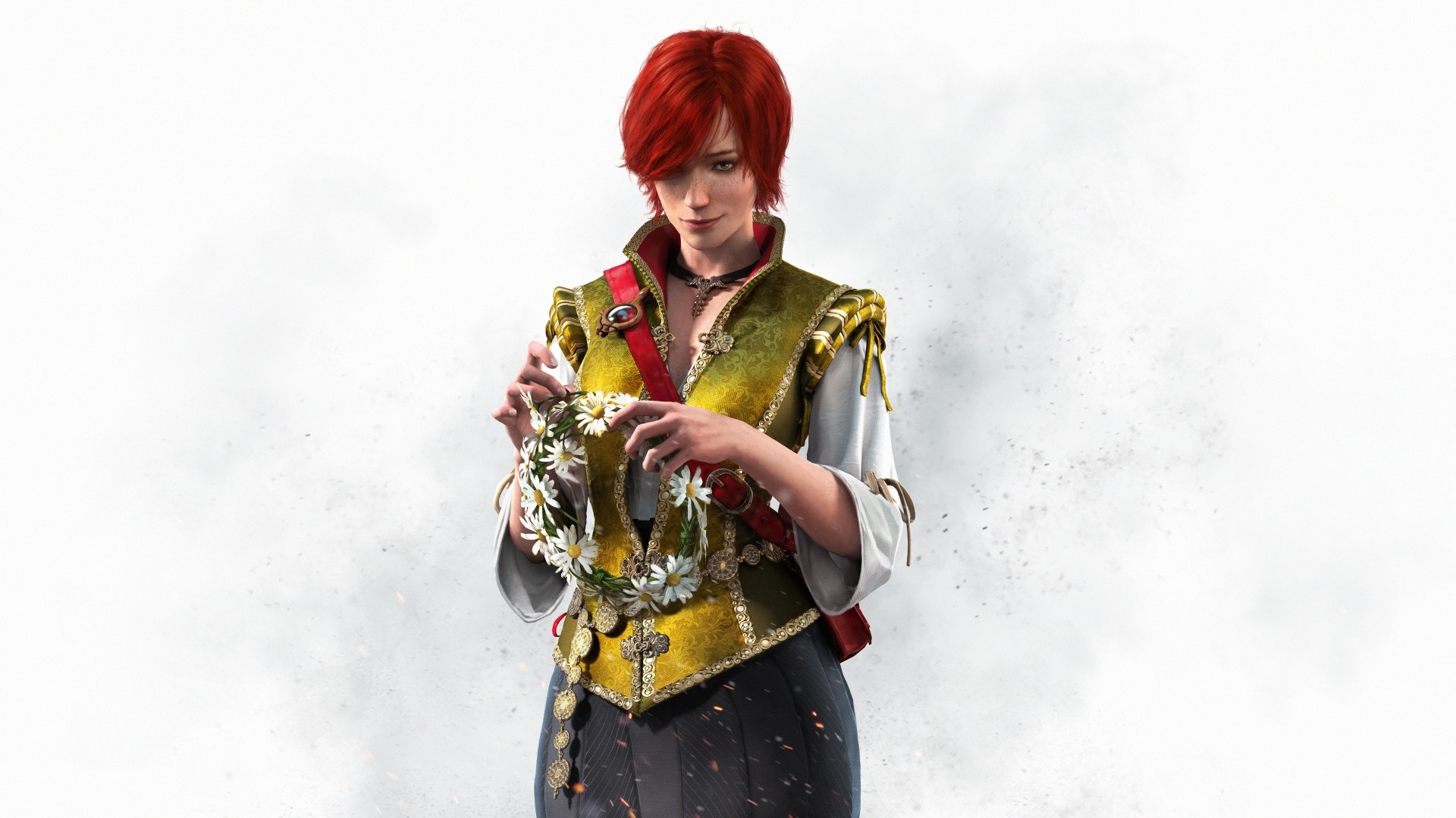 Wallpaper the witcher 3, wild hunt, shani