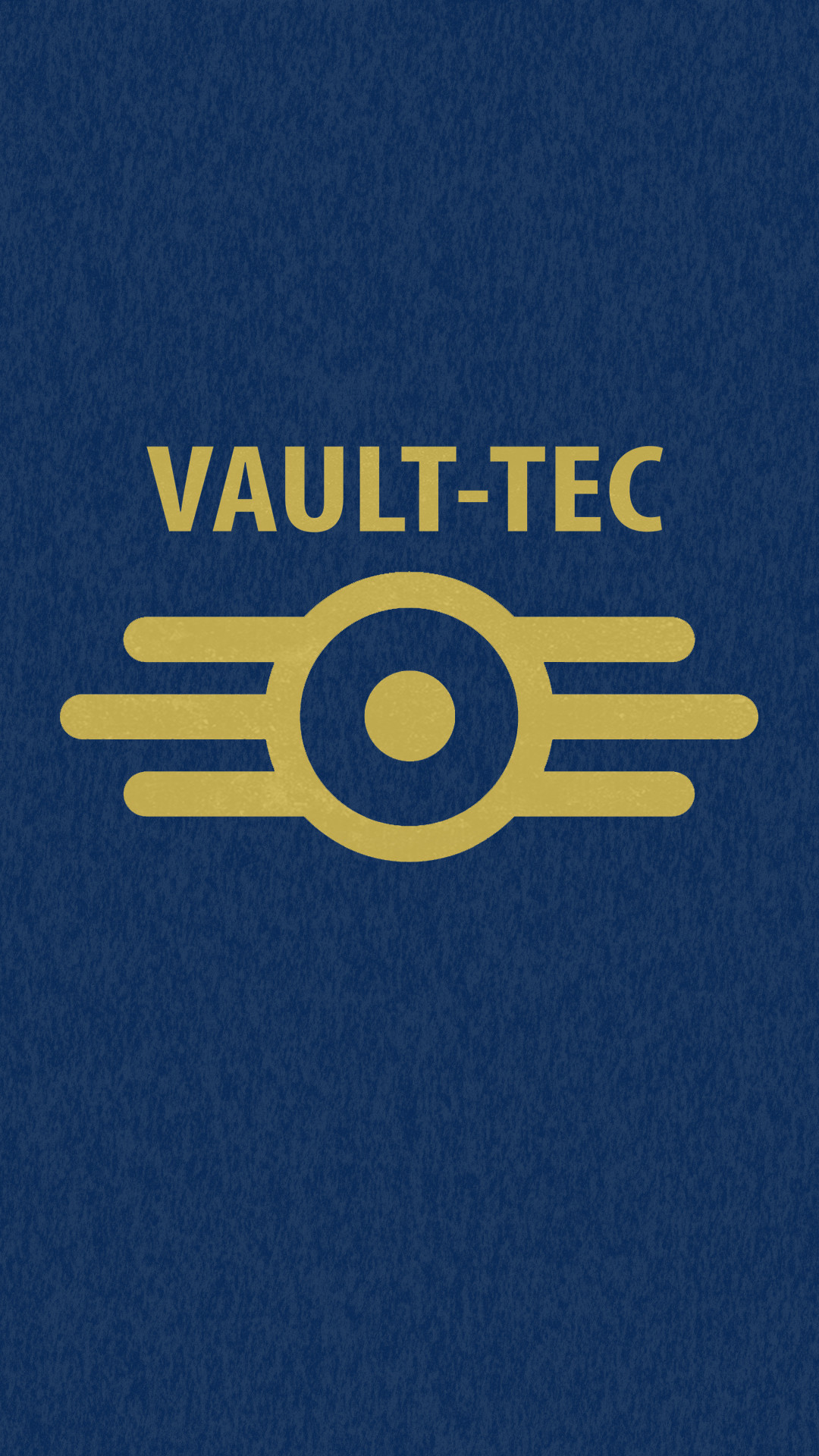 My Fallout Vault- Tec Android Setup with wallpaper