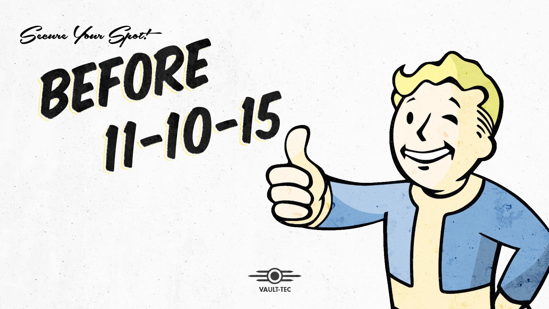 I made a Vault-Tec approved Fallout 4 Wallpaper!