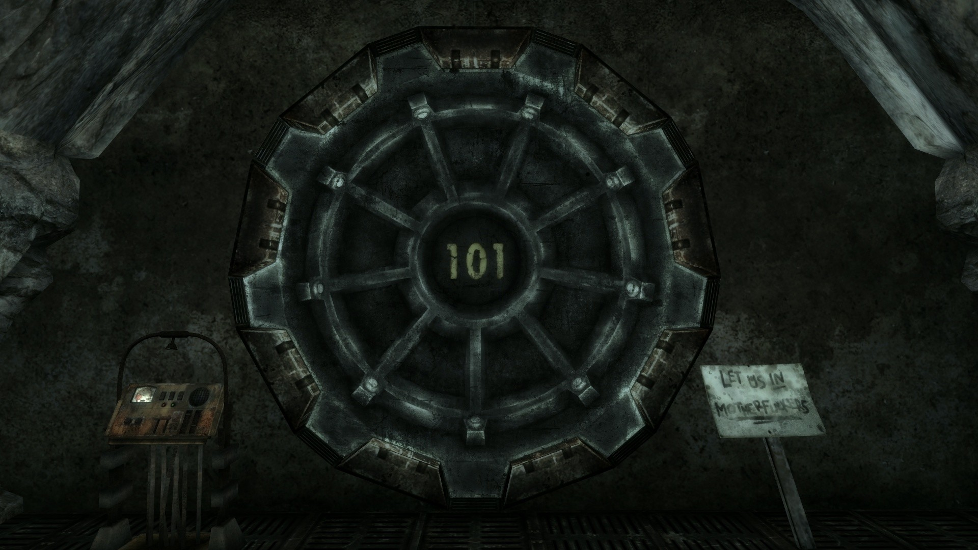 …  https://vignette2.wikia.nocookie.net/fallout/images/c/c6/Vault_19.png/revision/latest?cb=20140817020139  as examples, it seems weird to me that vault-tec …