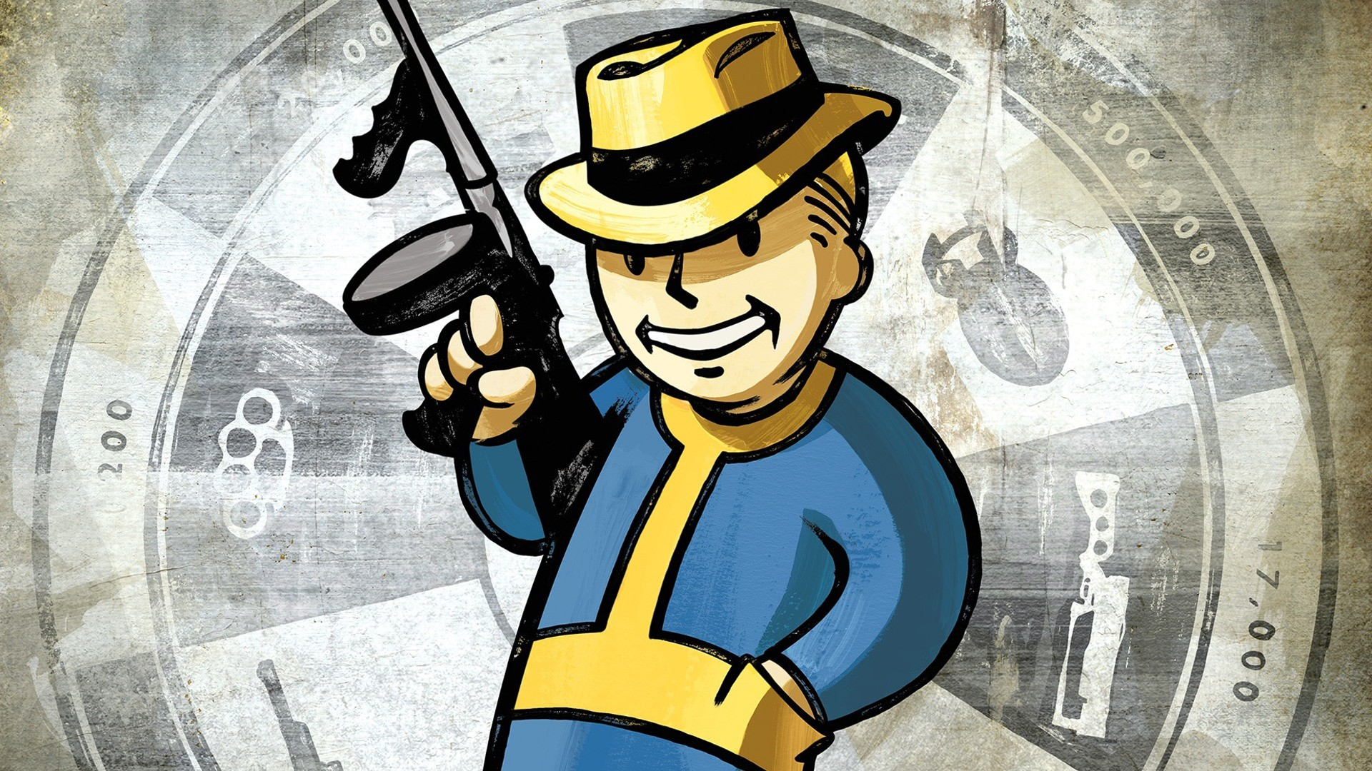 Image – FNV Vault Boy wallpaper.jpg   Fallout Wiki   FANDOM powered by Wikia