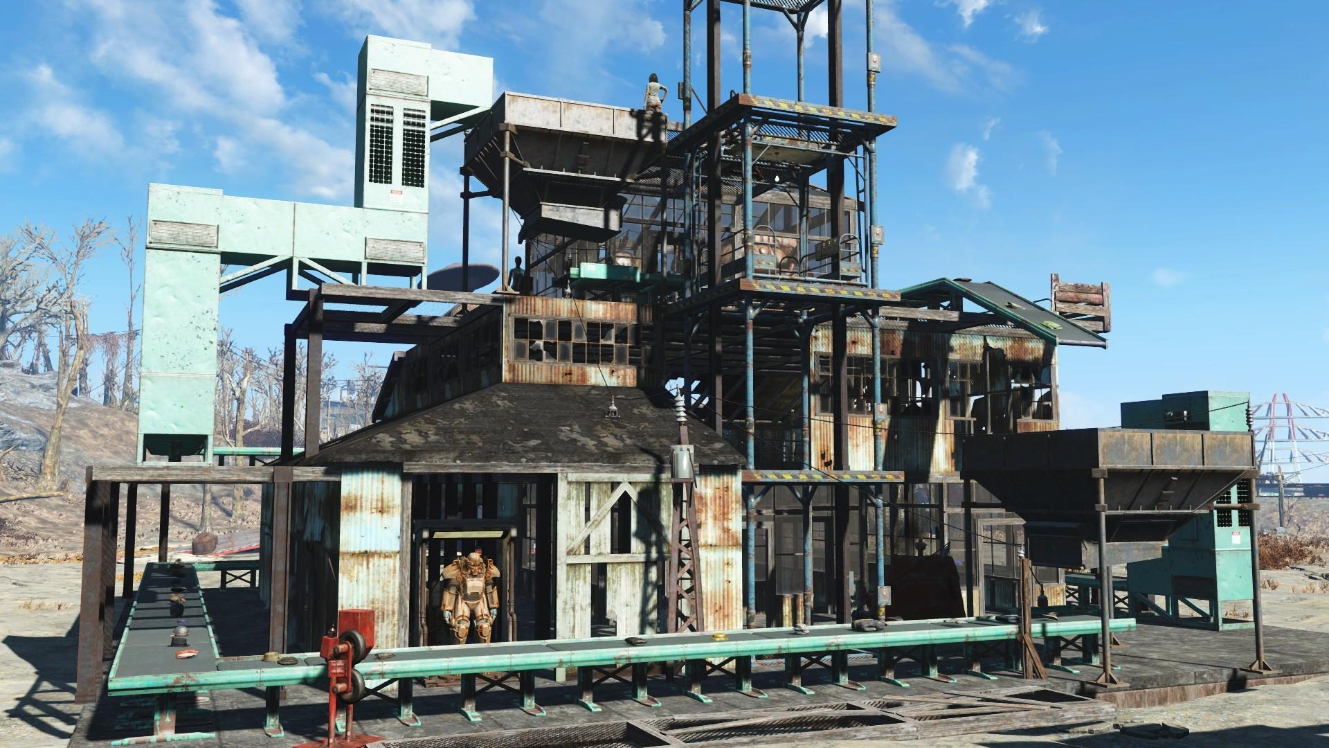 Fallout 4 DLC Contraptions Workshop