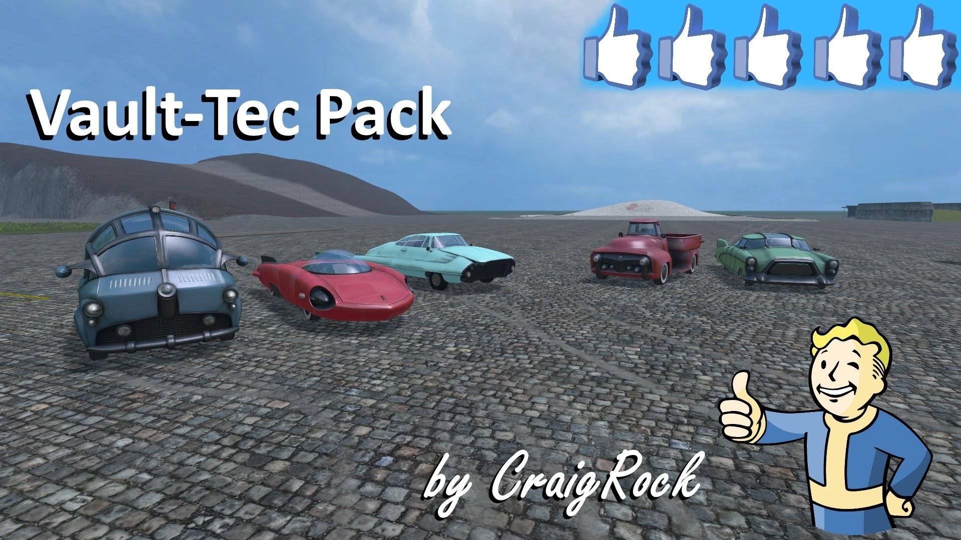 Review Vault-Tec Pack #FS15