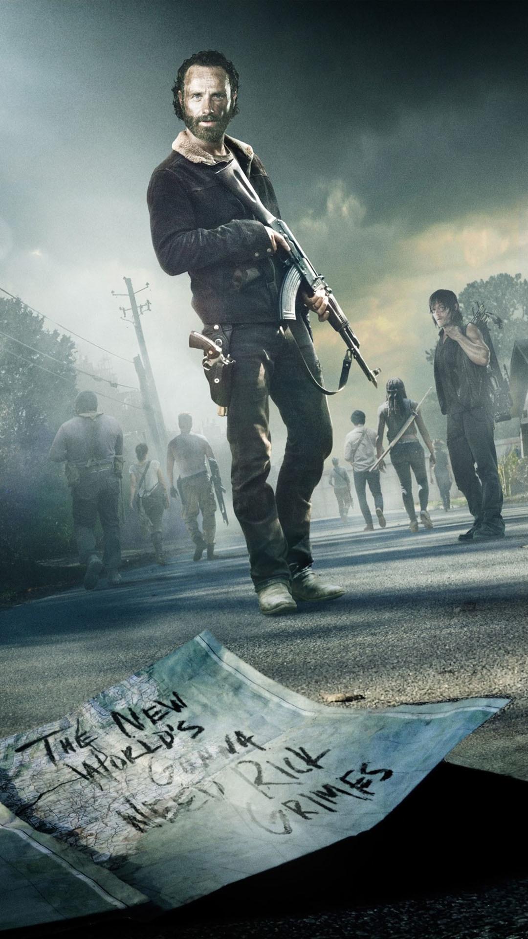 The Walking Dead iPhone Wallpaper – WallpaperSafari