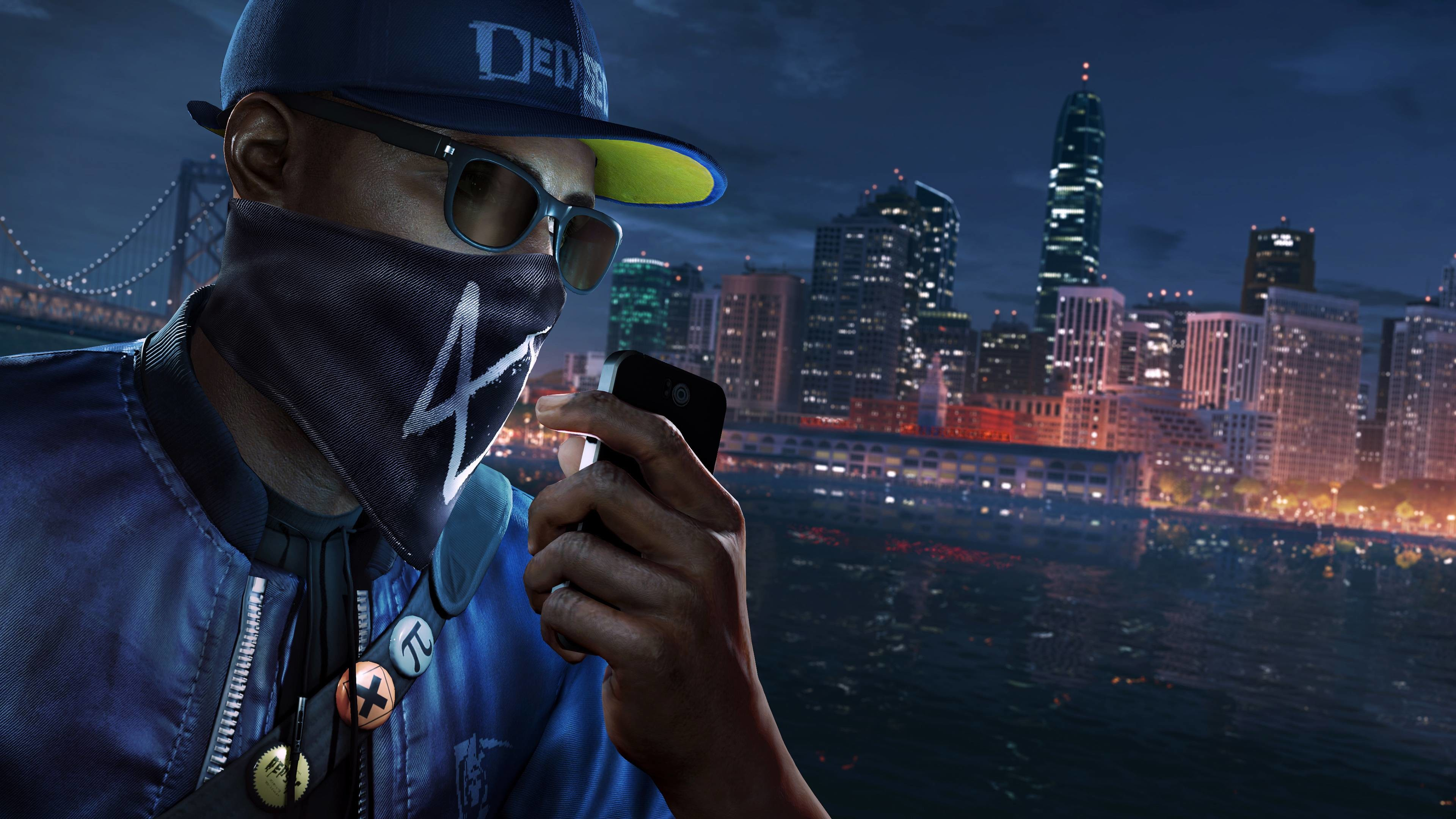 Watch Dogs 2, Marcus Holloway, PS4 Pro, 4K