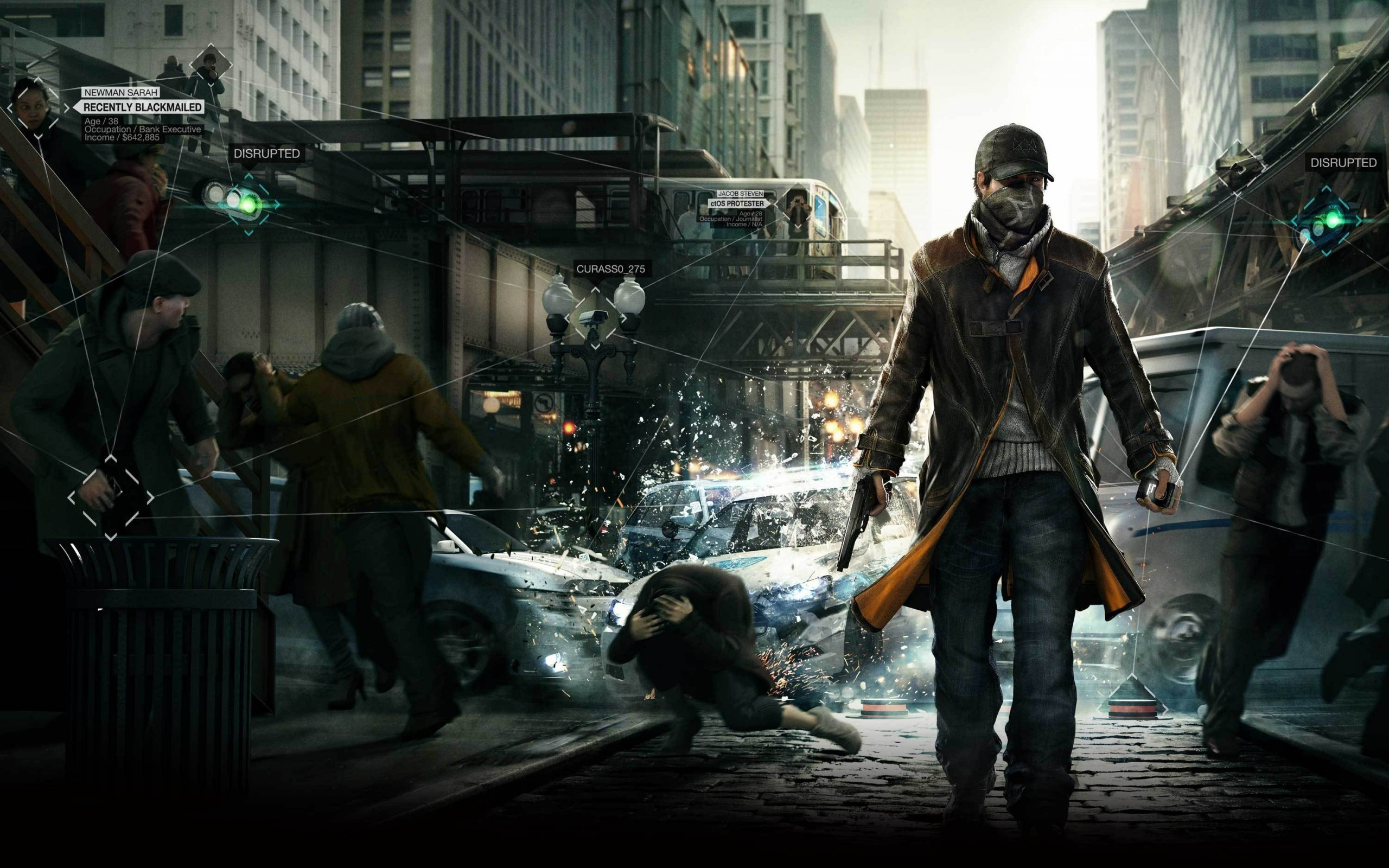 HD Wallpaper   Background ID:415518. Video Game Watch Dogs