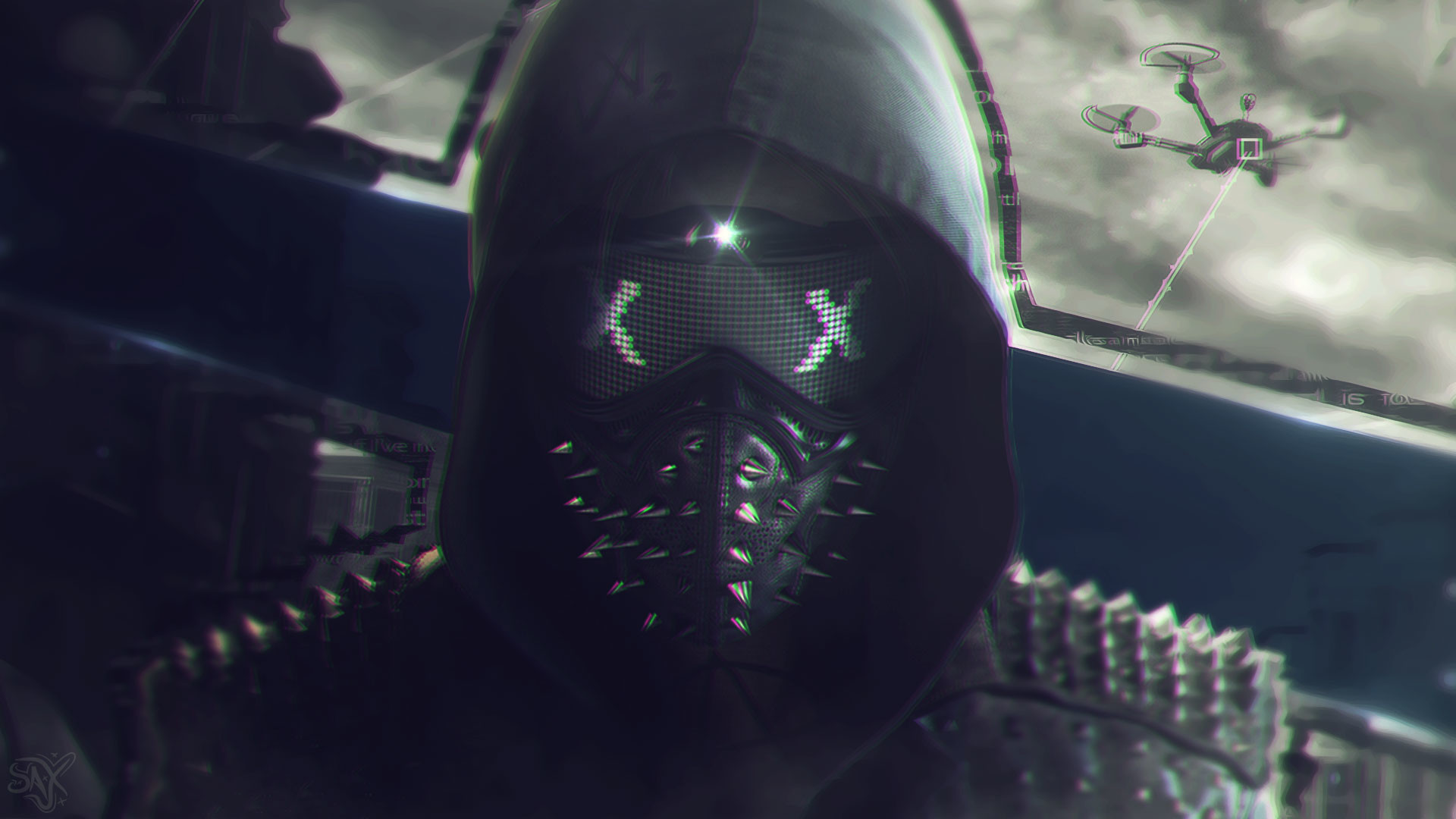 Wallpaper Watch Dogs 2 by SaxTop Wallpaper Watch Dogs 2 by SaxTop