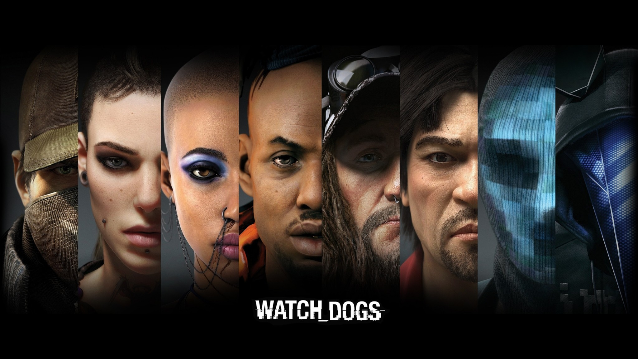 Preview wallpaper watch dogs, aiden pearce, clara lille 2048×1152
