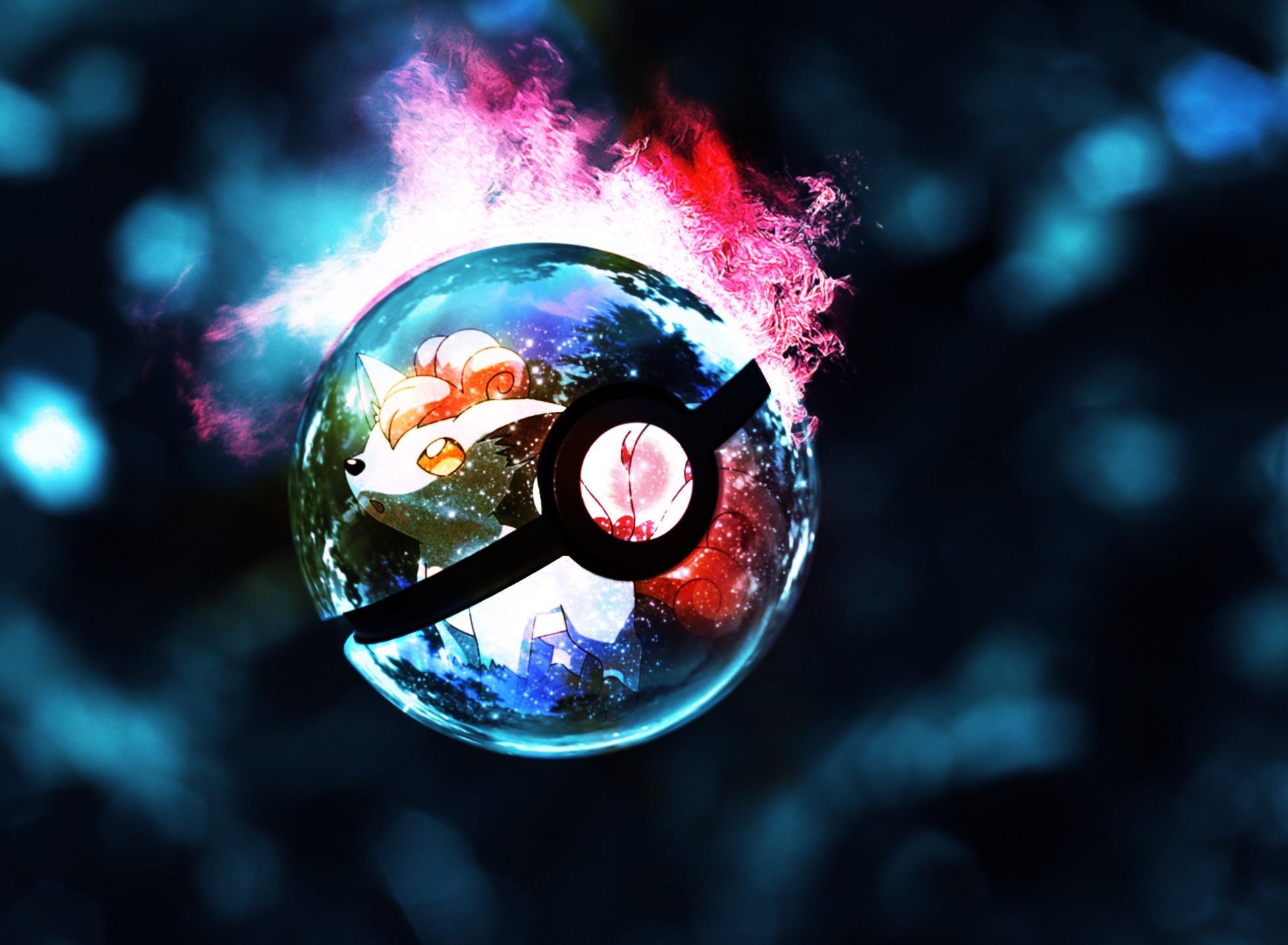 pokemon · lights · glowing · Pokeball