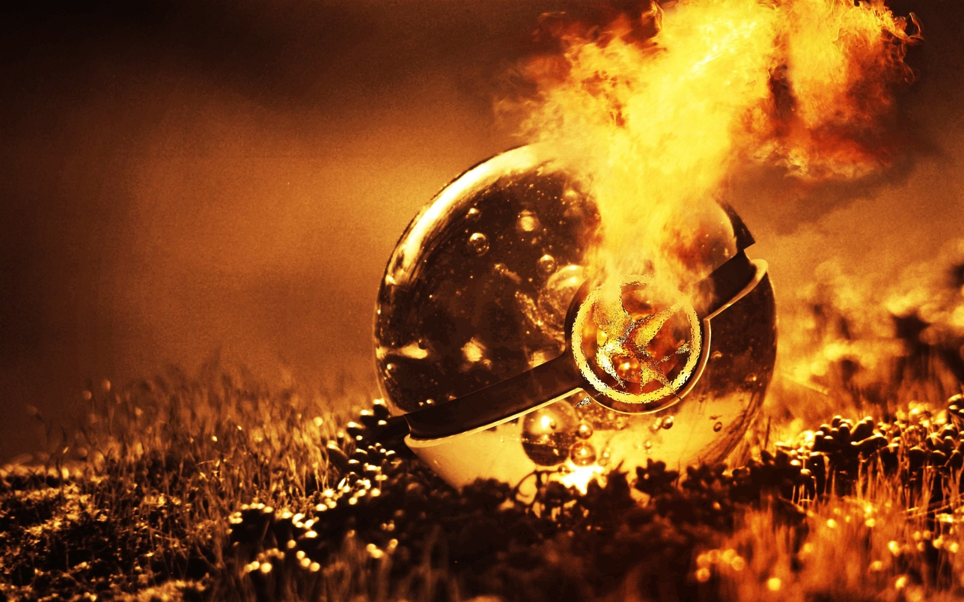 Imaginative The Hunger Games Pokeball Wallpaper