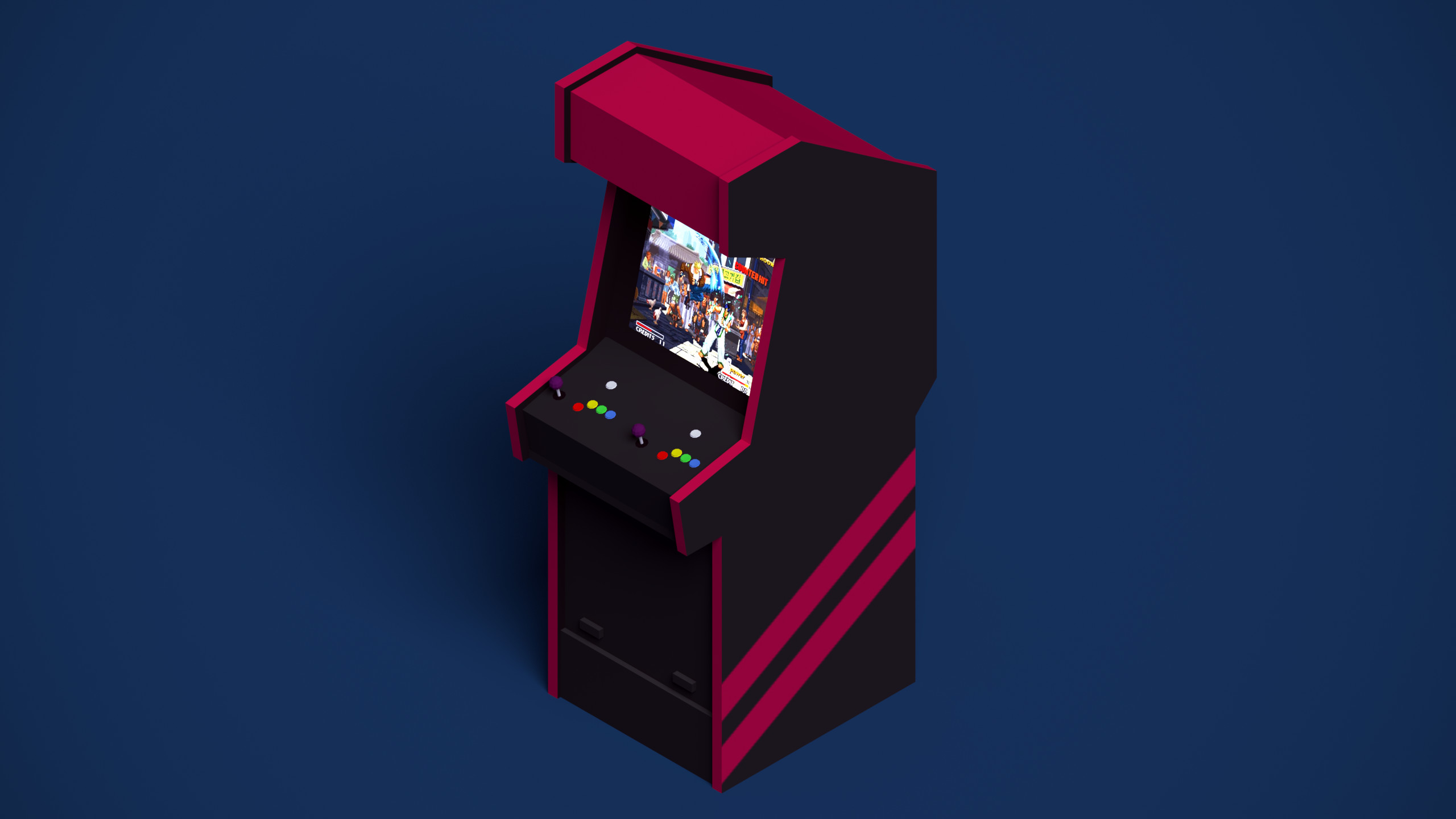 HD Wallpaper   Background ID:784657. Video Game Arcade