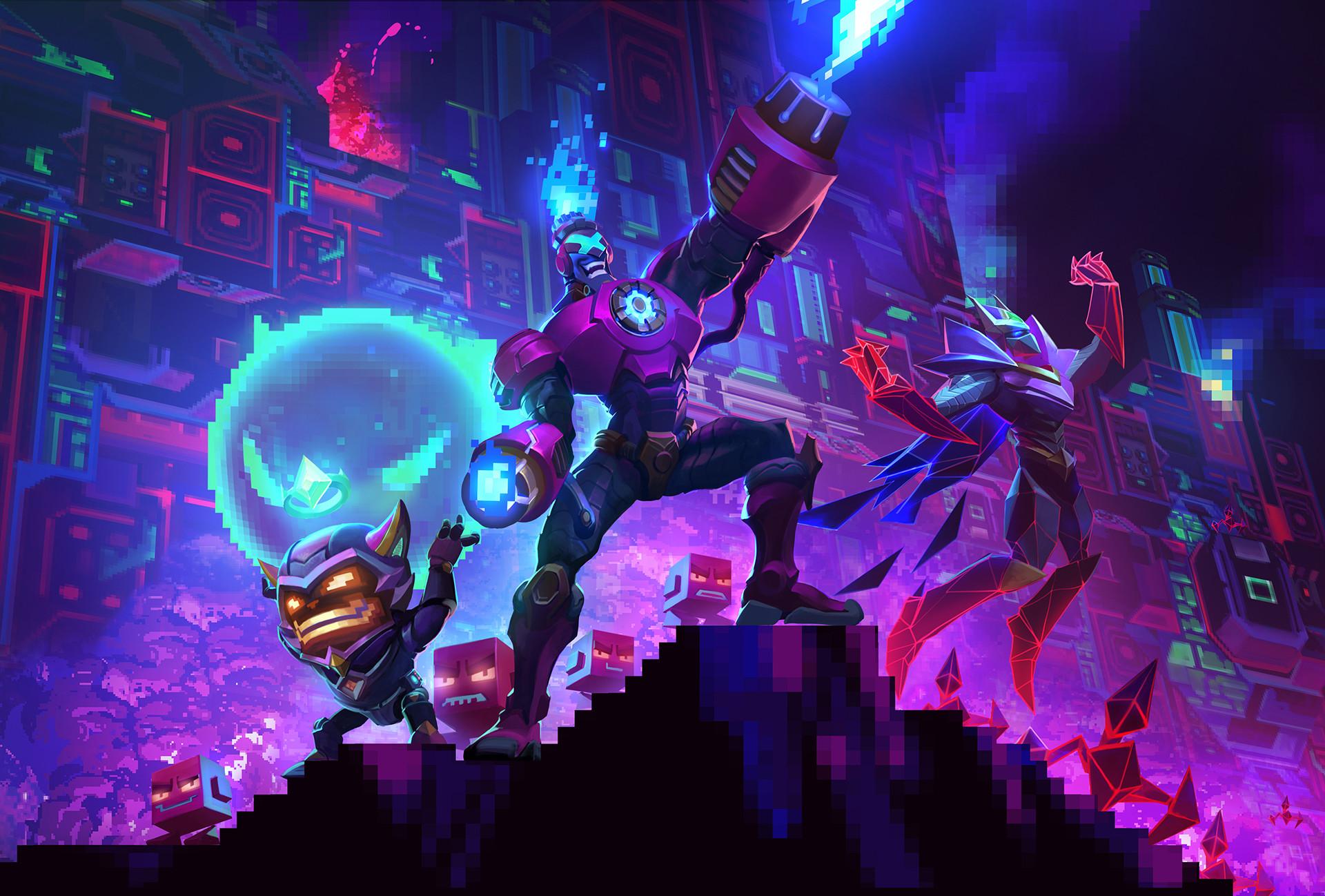 Arcade 2017 (Battle Boss Brand, Malzahar, Ziggs) Promo HD Wallpaper  Background Official
