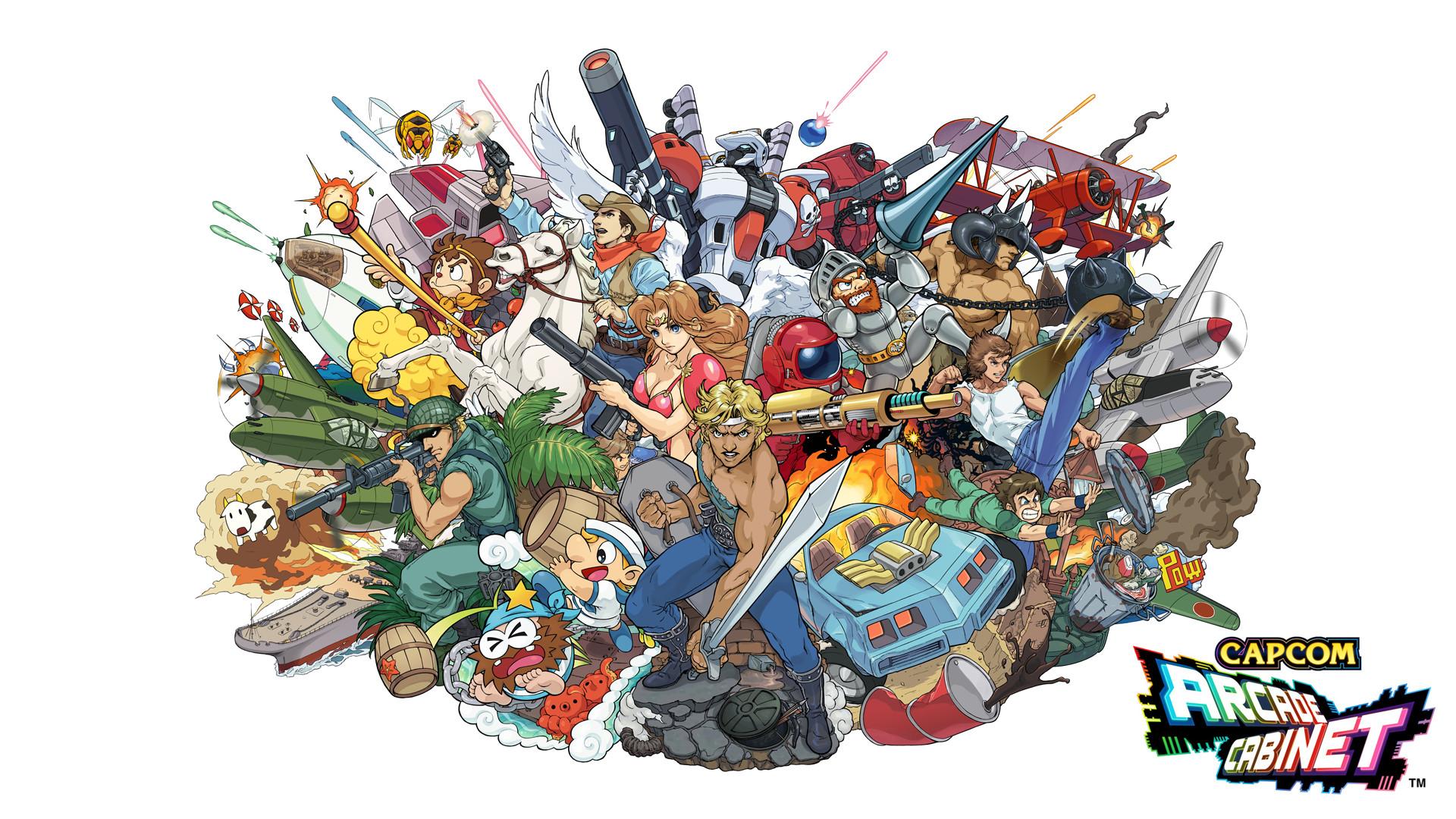 … Capcom Arcade Cabinet wallpaper edit by Bonsewswesa