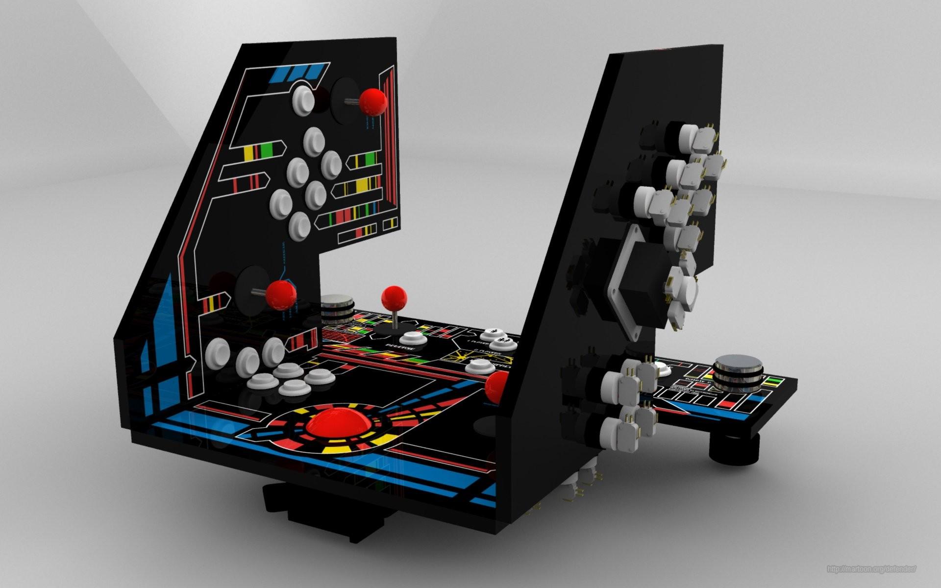 Arcade Control Panel Layout
