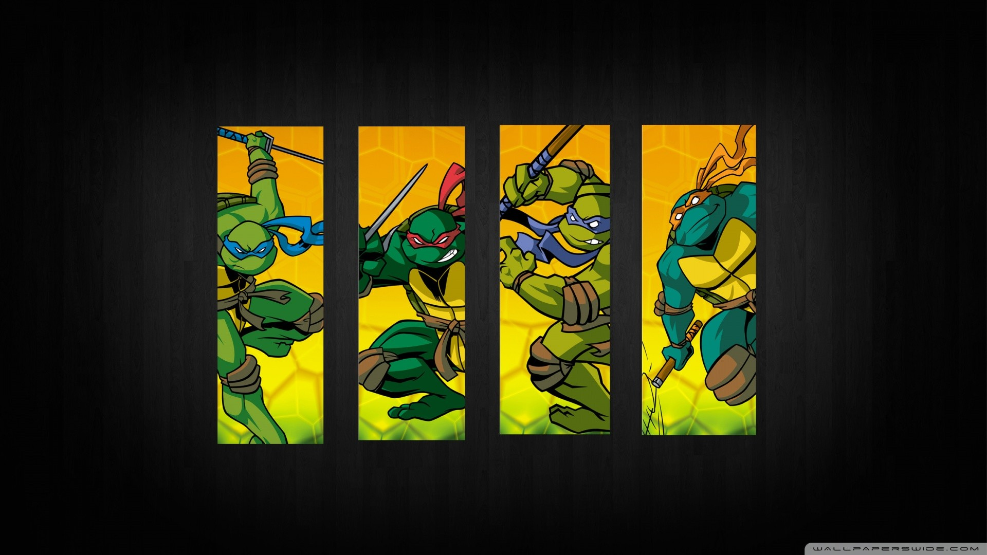 … Teenage Mutant Ninja Turtles II: The Arcade Game – Fanart – Background  …