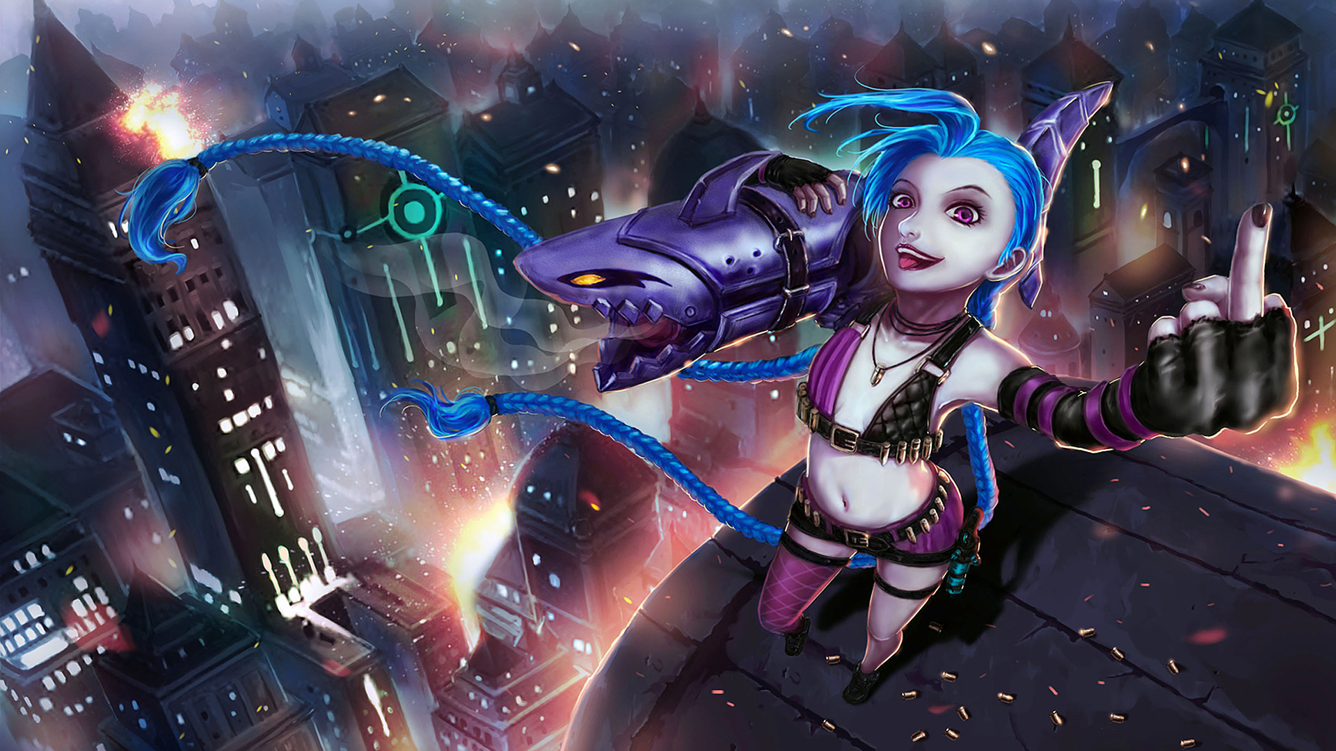 League Of Legends Jinx Wallpapers Full Hd Is Cool Wallpapers
