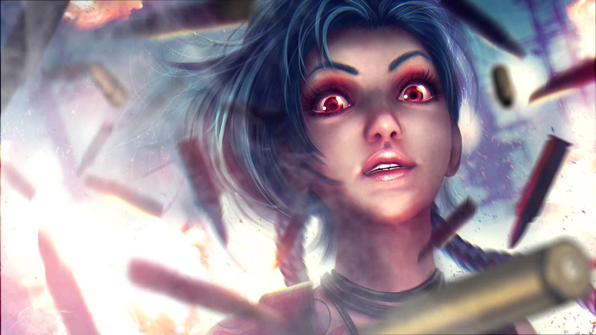 JINX Animation – Animated Wallpaper Fan Art || League Of Legends (Get  Jinxed) – YouTube