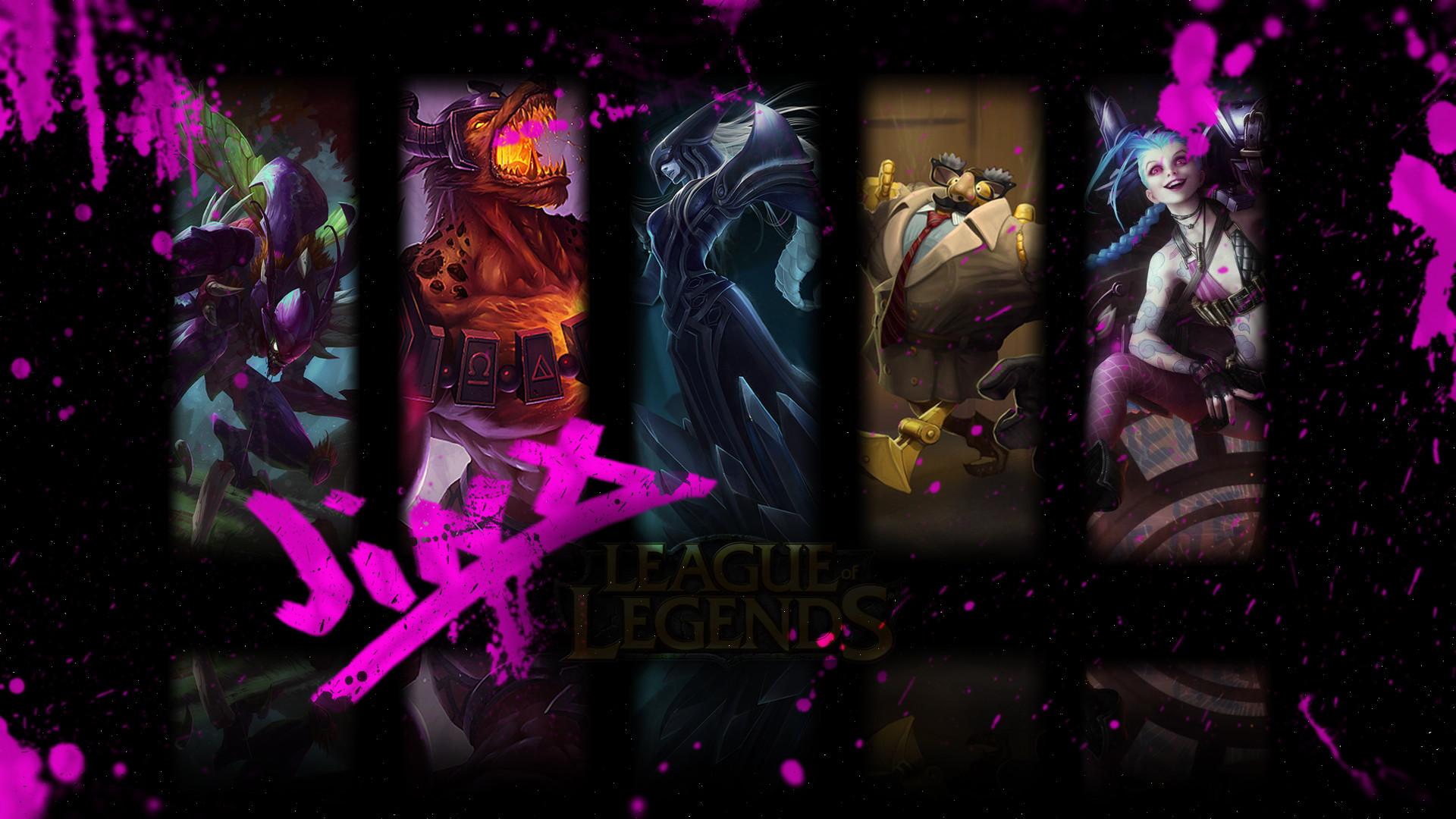 … Jinx League of Legends – HD Wallpaper by ThePeakEater