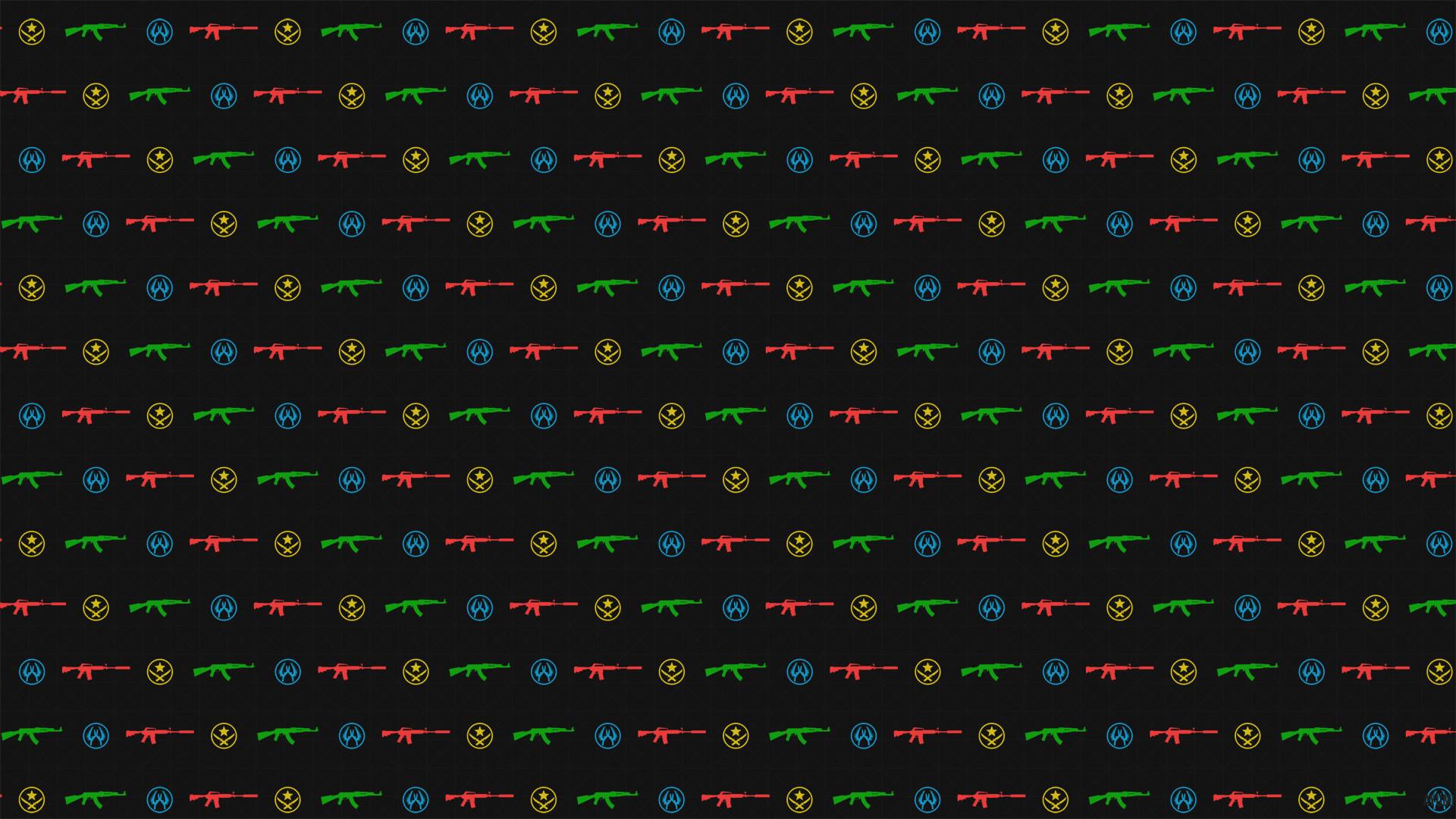 CSGO Ak-47 – M4a1 wallpaper pattern