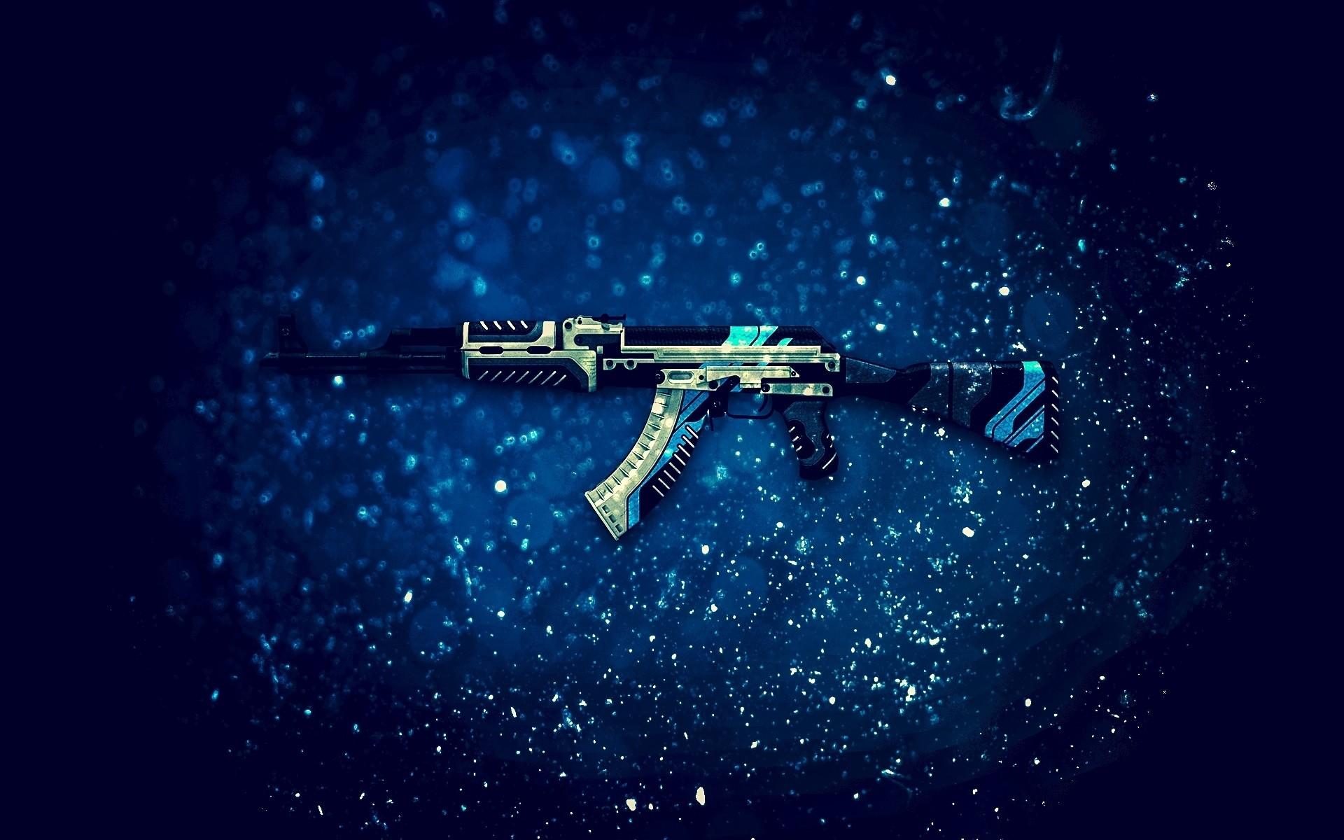 AK-47 assault rifle, CS: GO, PC game wallpaper thumb