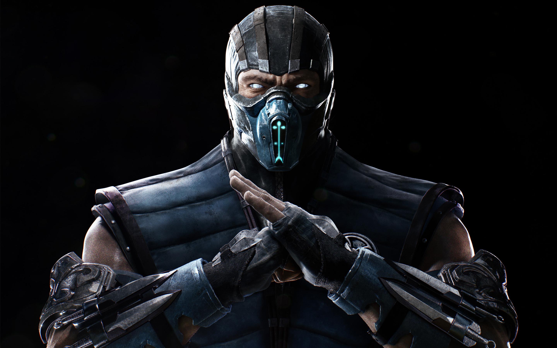 Mortal Kombat X Sub Zero 4K 5K