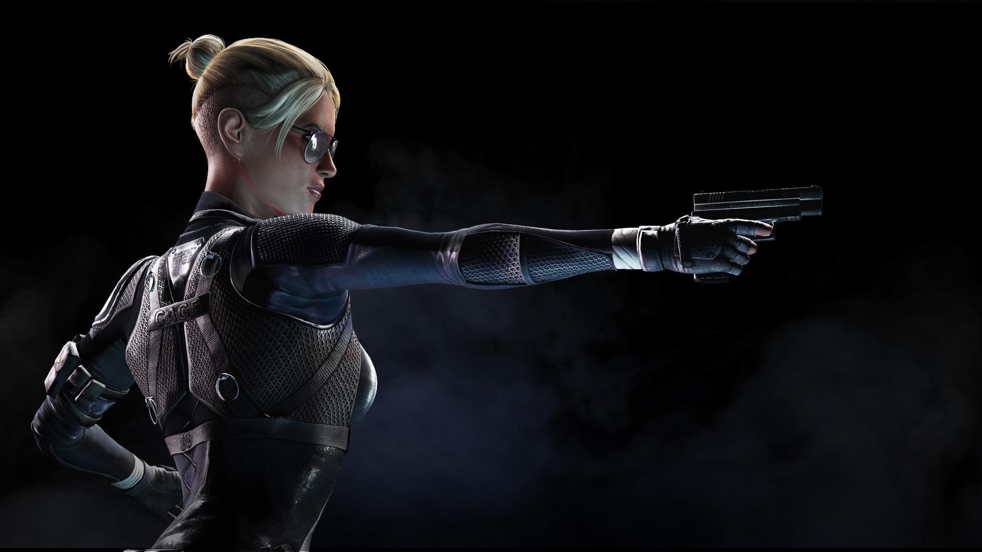 Cassie Cage Mortal Kombat X