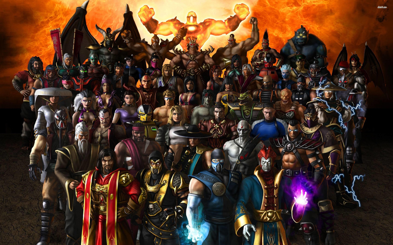 Mortal Kombat characters wallpaper – Game wallpapers – #