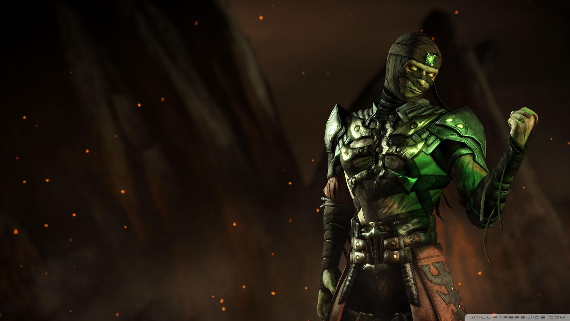 Mortal Kombat X Ermac HD desktop wallpaper : Widescreen : High