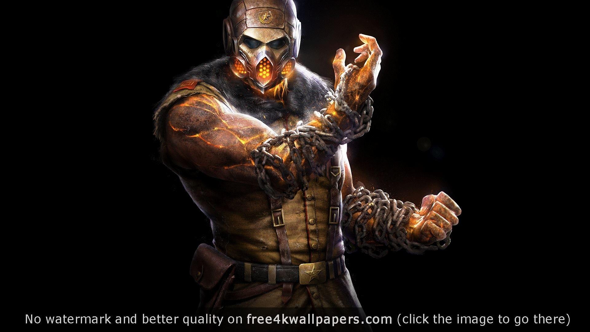 Mortal Kombat X Kold War Scorpion wallpaper