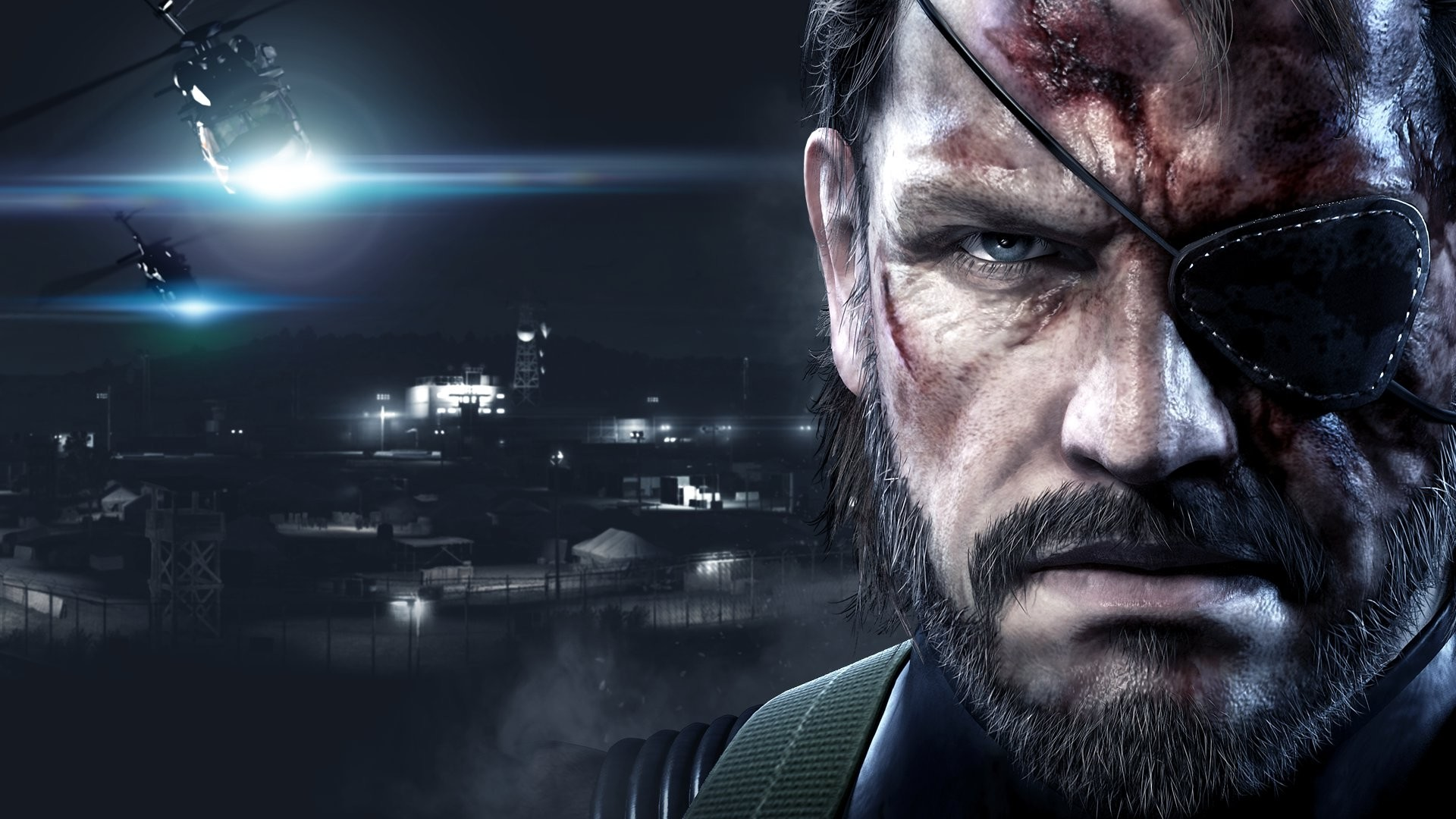 Preview wallpaper metal gear solid v ground zeroes, metal gear solid v, art,