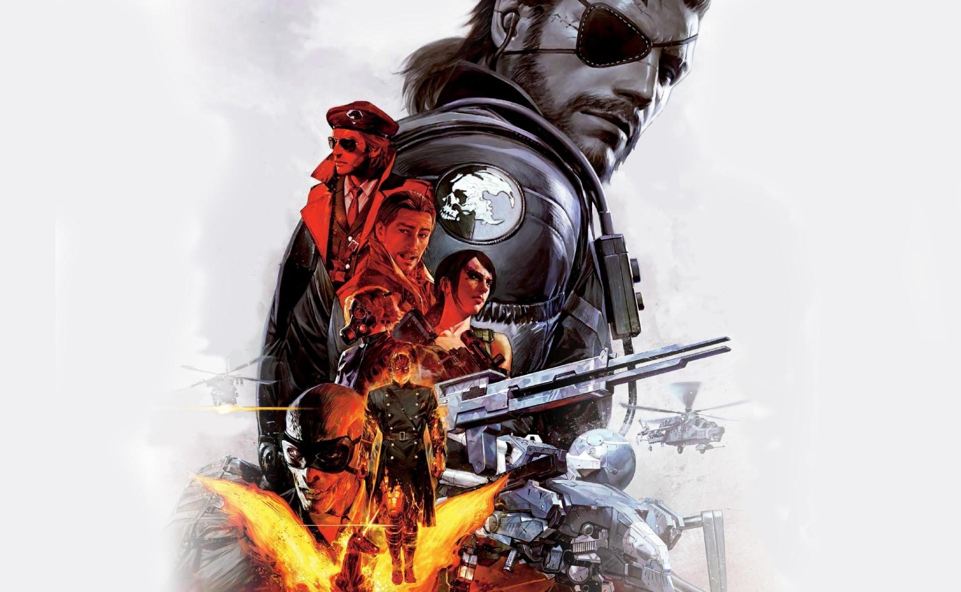 Vídeo Game Metal Gear Solid V: The Phantom Pain Solid Snake Papel de Parede