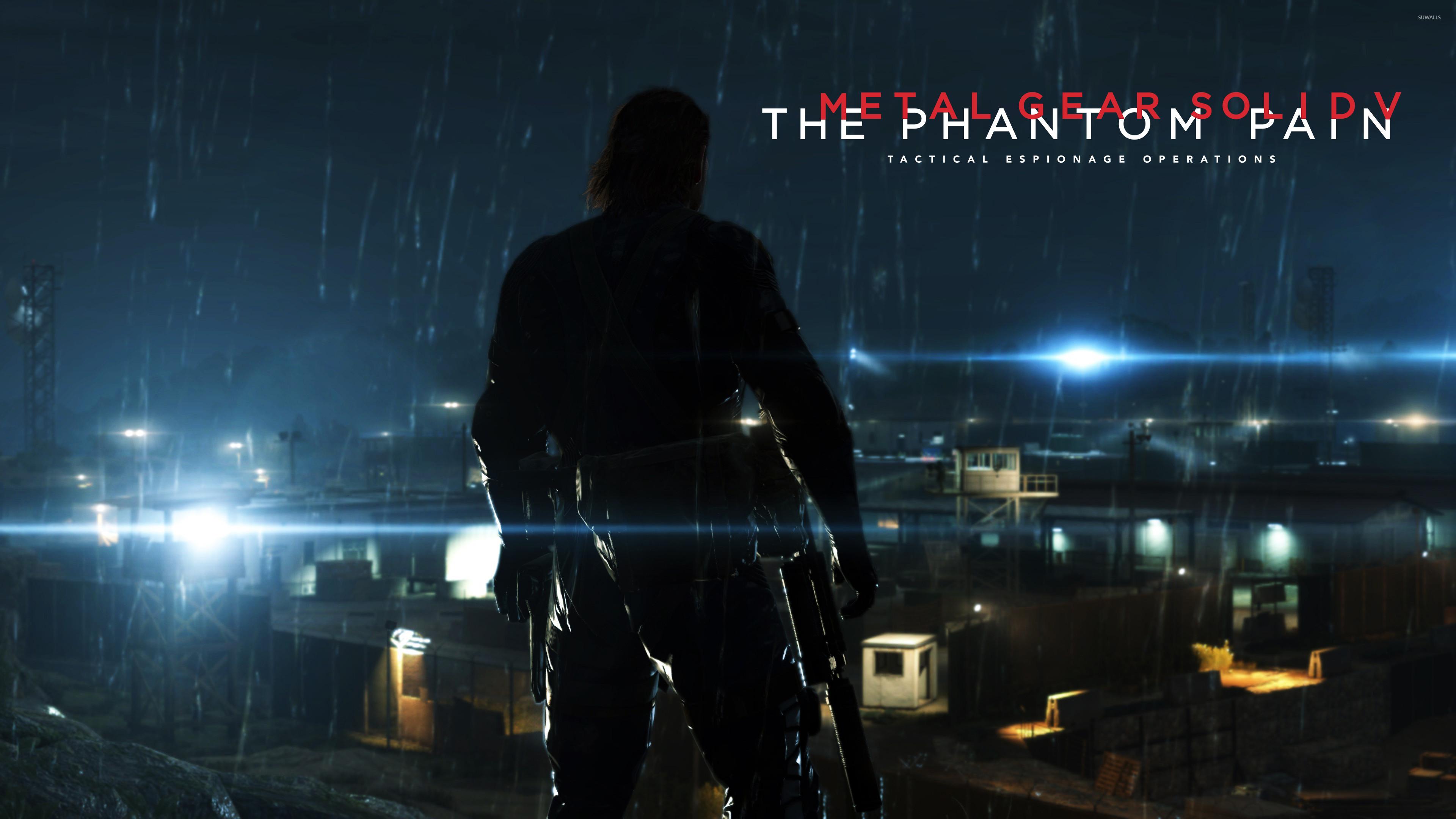 Big Boss in Metal Gear Solid V: The Phantom Pain wallpaper