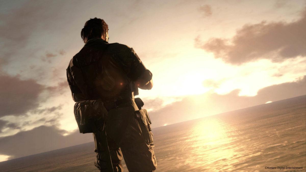 Big Boss At Sunrise Metal Gear Solid V The Phantom Pain Wallpaper