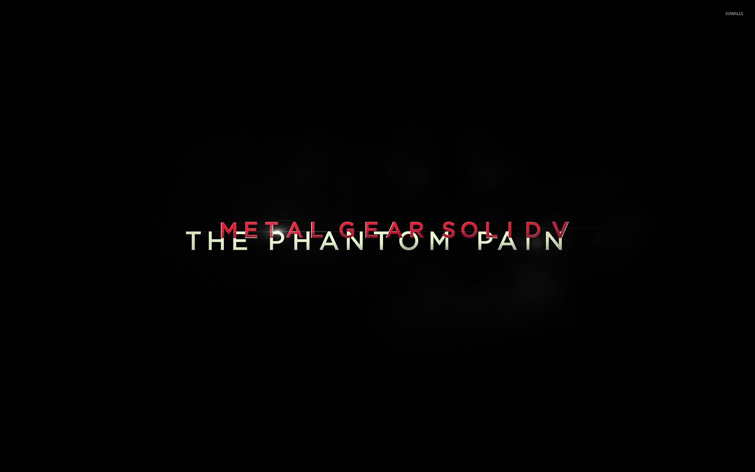 Metal Gear Solid V: The Phantom Pain [4] wallpaper jpg