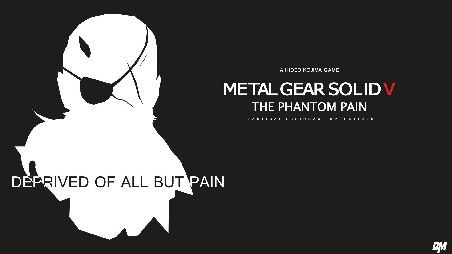 … Metal Gear Solid V The Phantom Pain BLACK VERSION by OscarManzi