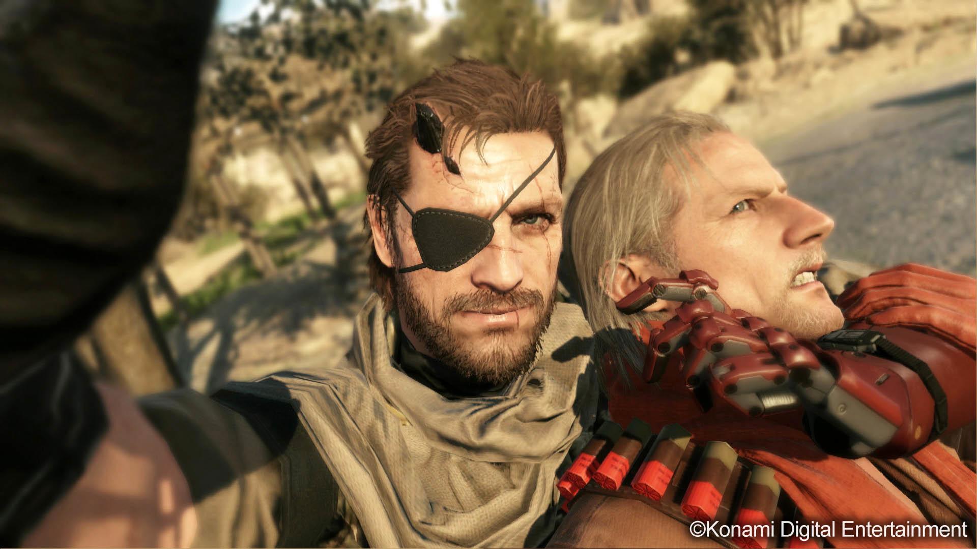 Big Boss & Ocelot Scene – Metal Gear Solid V: The Phantom Pain  wallpaper