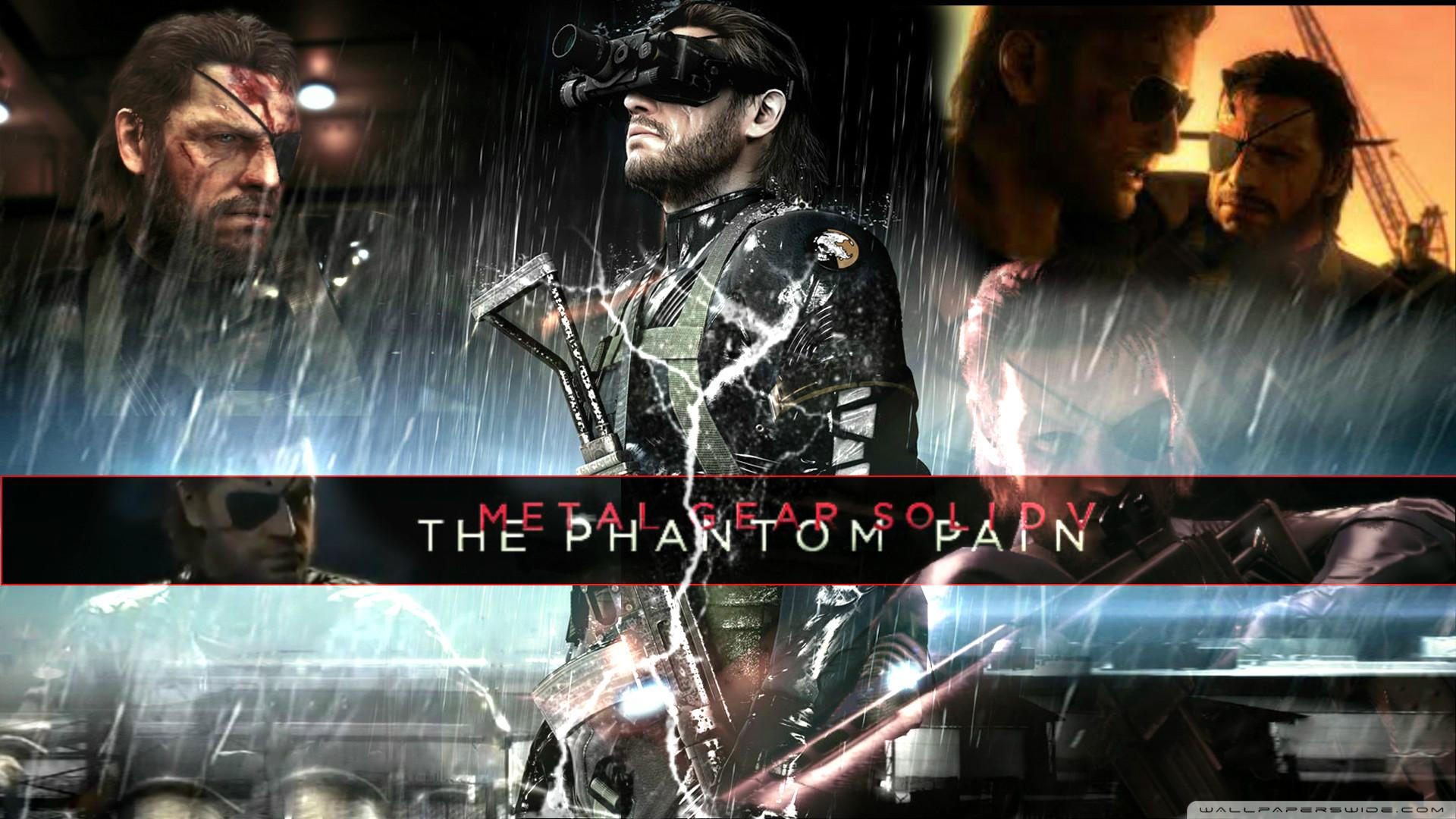 Metal Gear Solid V Wallpaper Rain